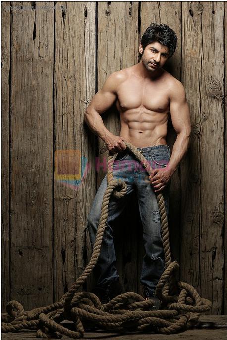 Aansh Arora's hot bare body Photoshoot