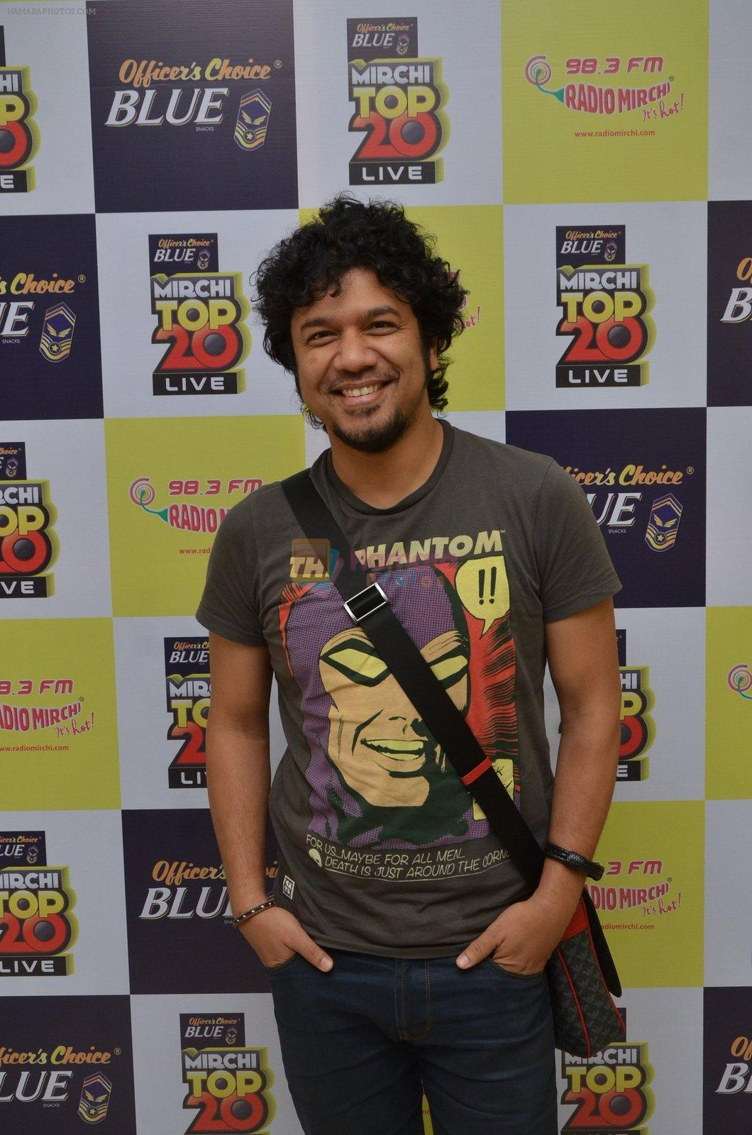 Papon at the Announcement Of Mirchi Top 20 Concert on 10th Oct 2016