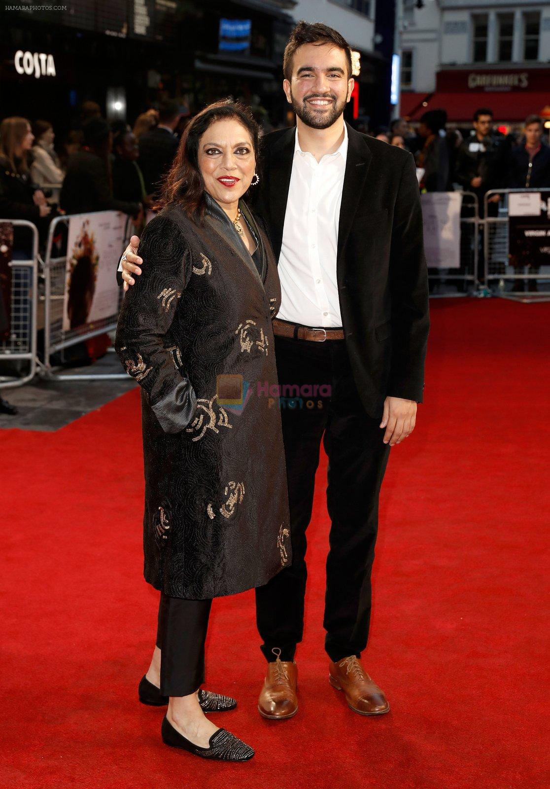 at Mira Nair's Queen of Katwe premiere in BFI London Film Festival on 10th Oct 2016