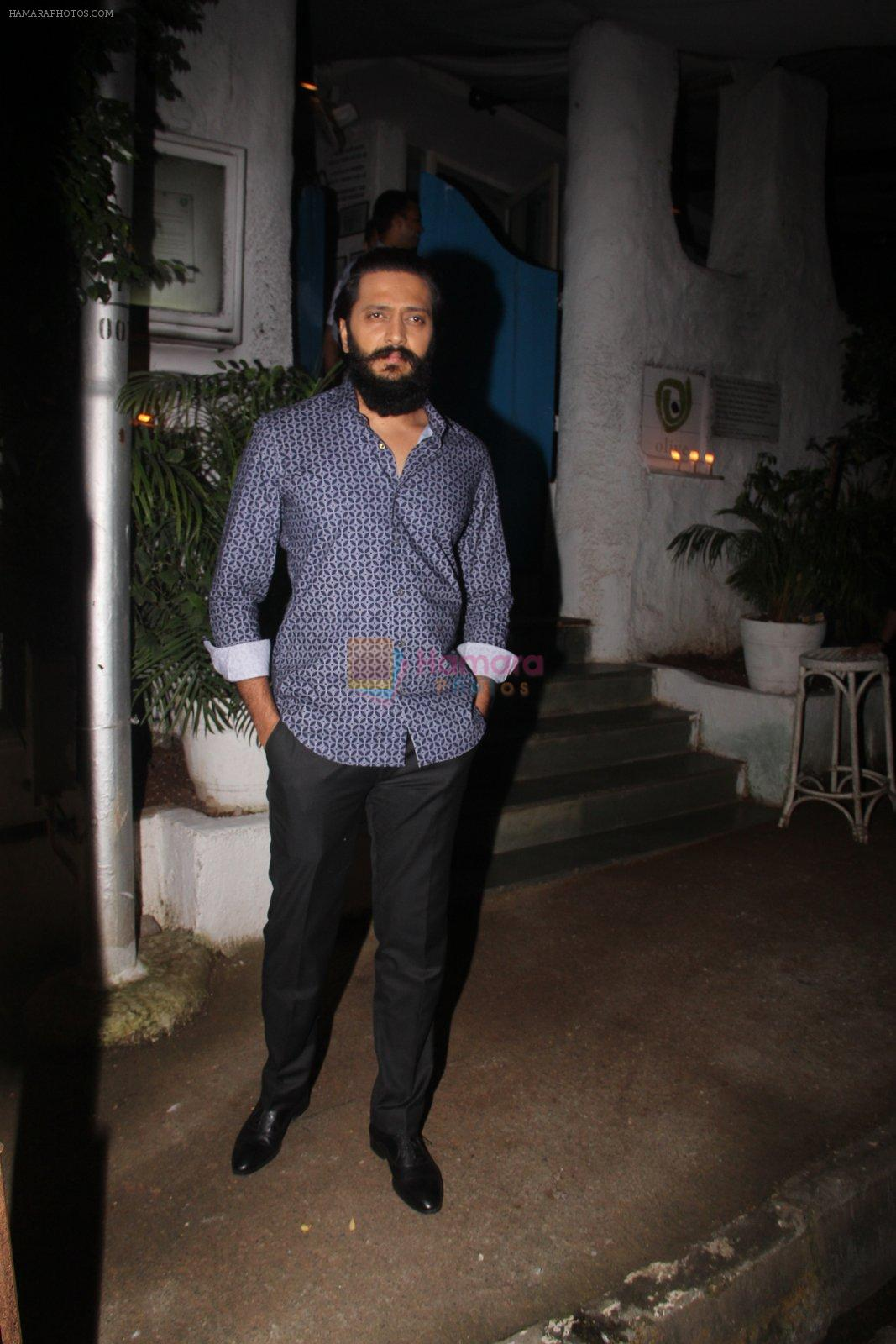 Riteish Deshmukh snapped on 10th Oct 2016