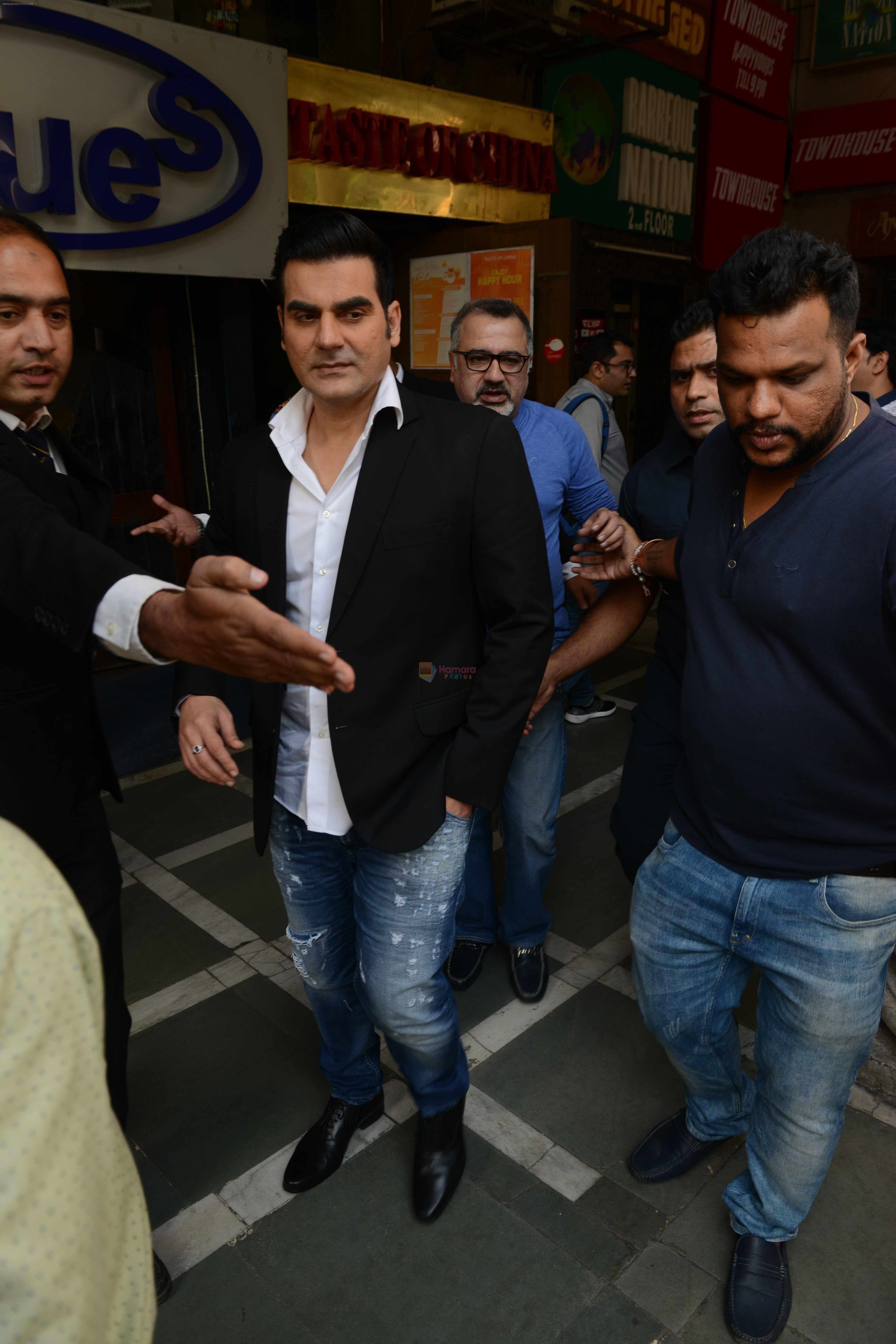 Arbaaz Khan at Bollywood Mr and Miss India on 10th Oct 2016
