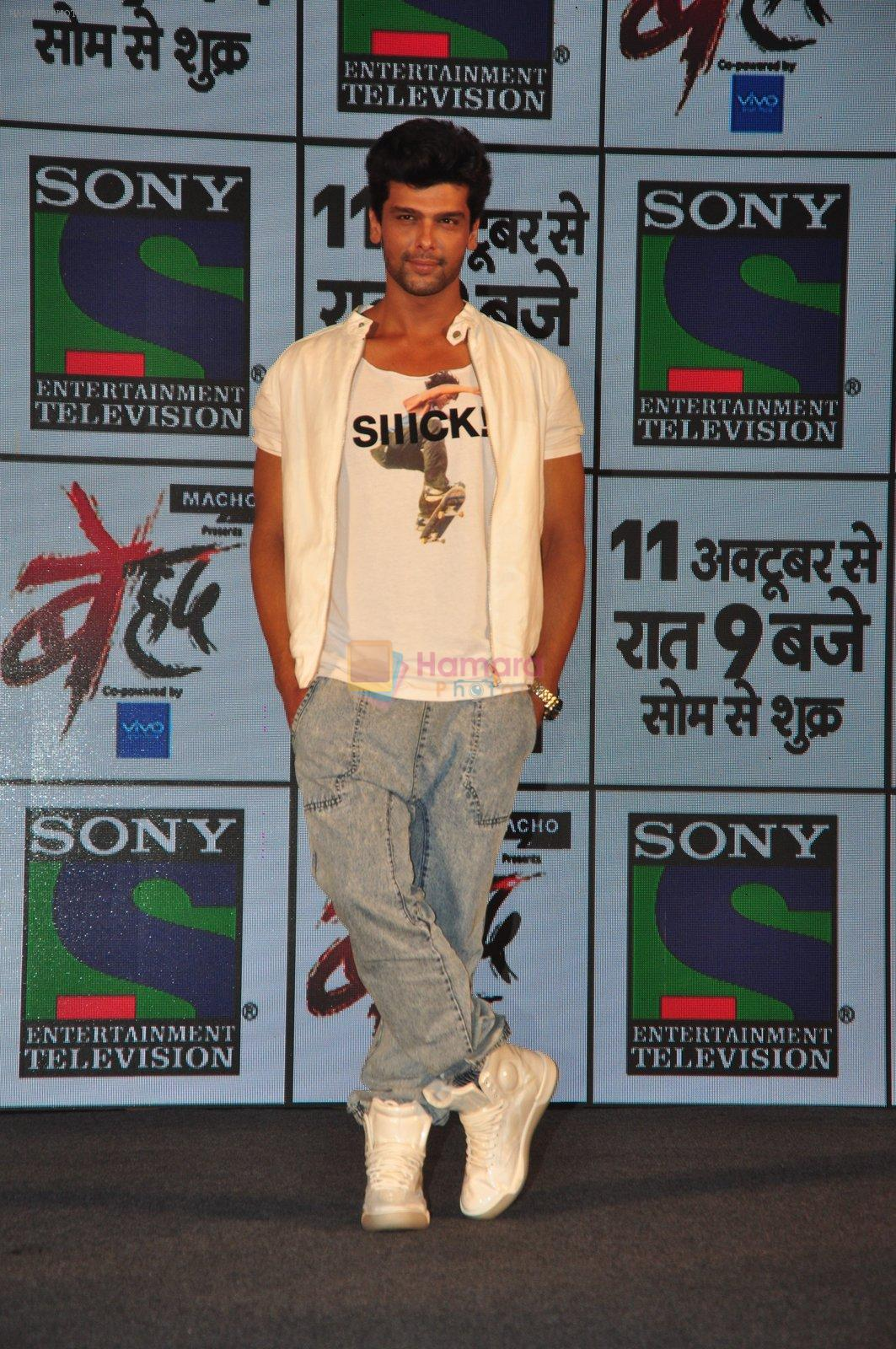 Kushal Tandon at Sony's new show Behad launch on 10th Oct 2016