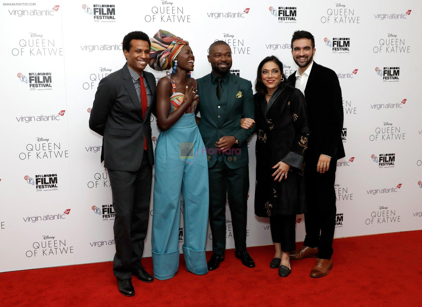 Mira Nair's Queen of Katwe premiere in BFI London Film Festival on 10th Oct 2016