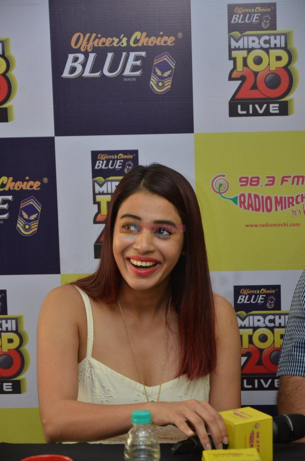 Shalmali Kholgade at the Announcement Of Mirchi Top 20 Concert on 10th Oct 2016