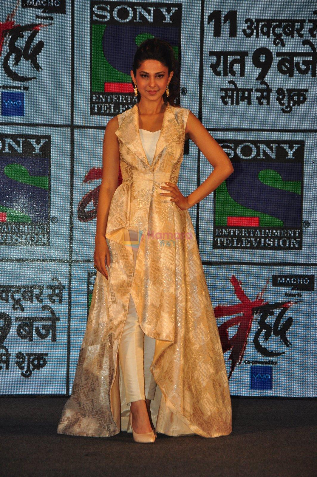 Jennifer Winget at Sony's new show Behad launch on 10th Oct 2016