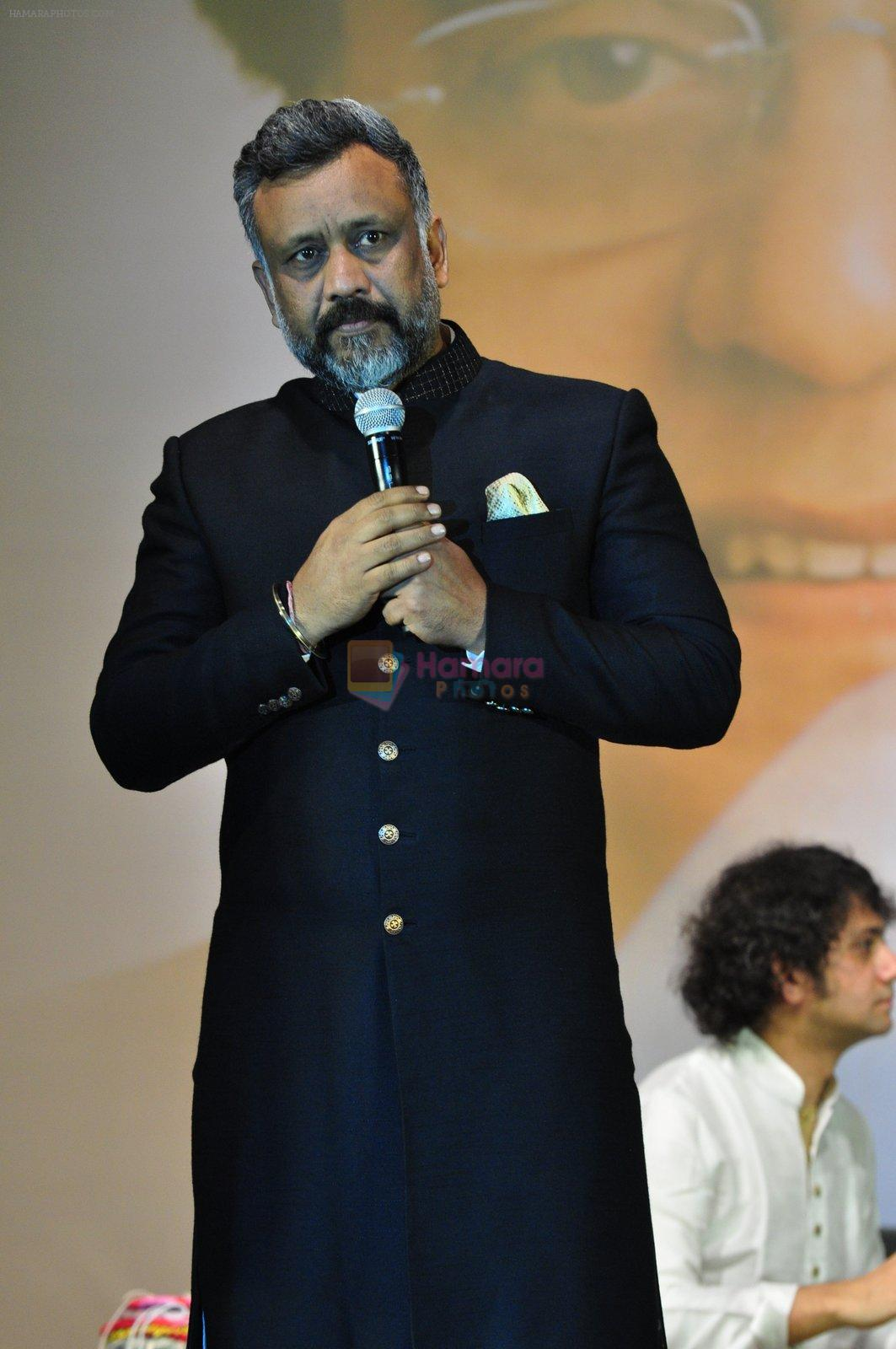 Anubhav Sinha at Jagjit Singh tribute concert with Tum Bin 2 team and T-Series on 10th Oct 2016