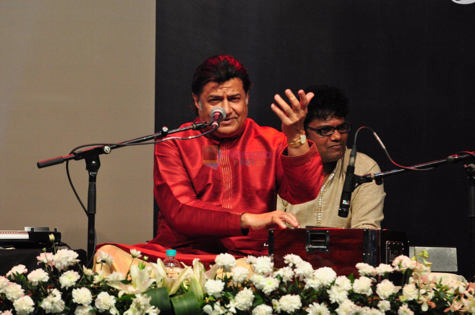 Anup Jalota at Jagjit Singh tribute concert with Tum Bin 2 team and T-Series on 10th Oct 2016