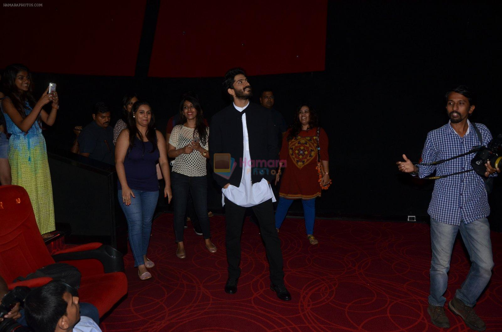 Harshvardhan Kapoor hosts Mirzya screening for female fans on 12th Oct 2016