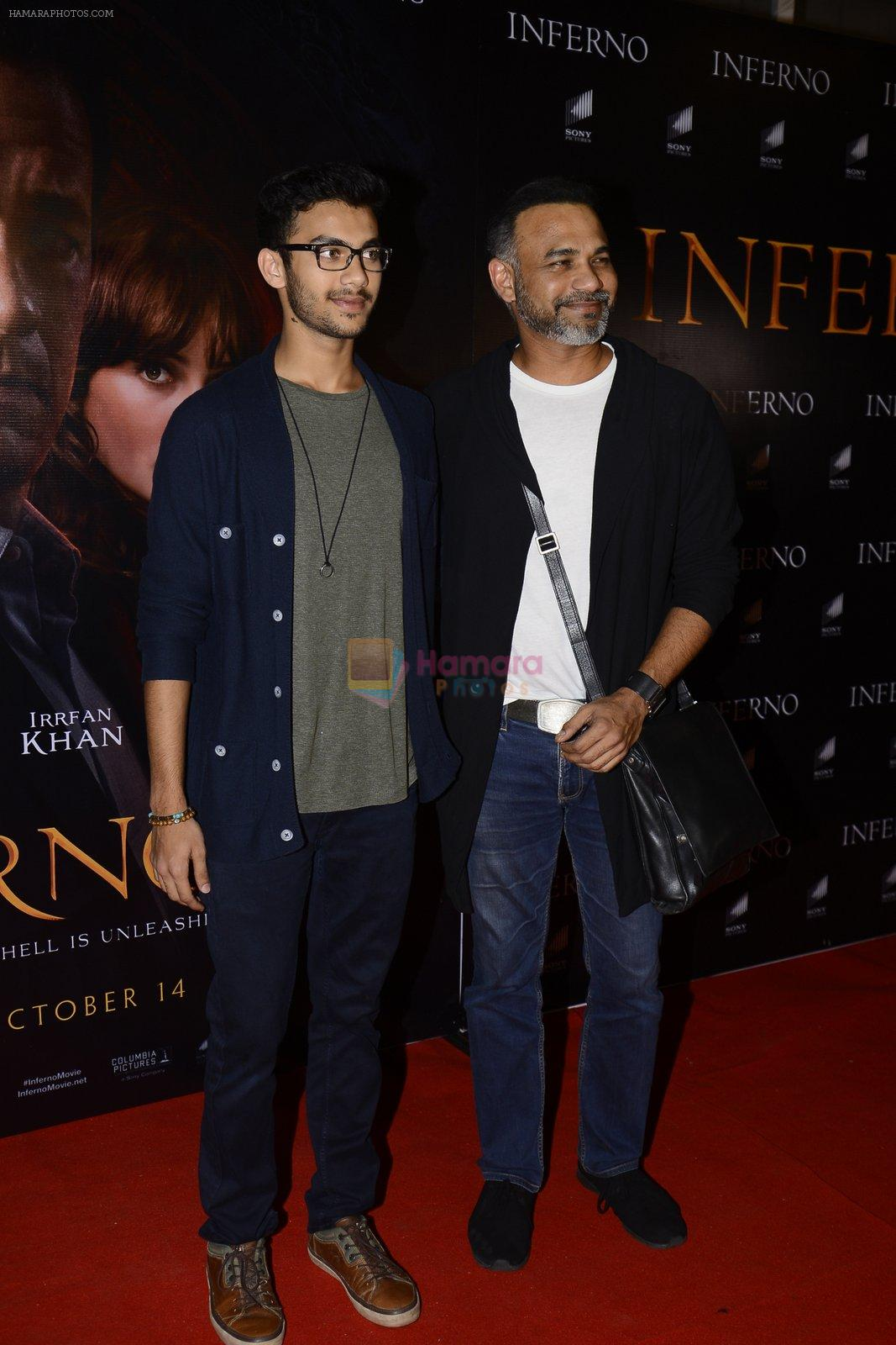 Abhinay Deo at Inferno premiere on 12th Oct 2016
