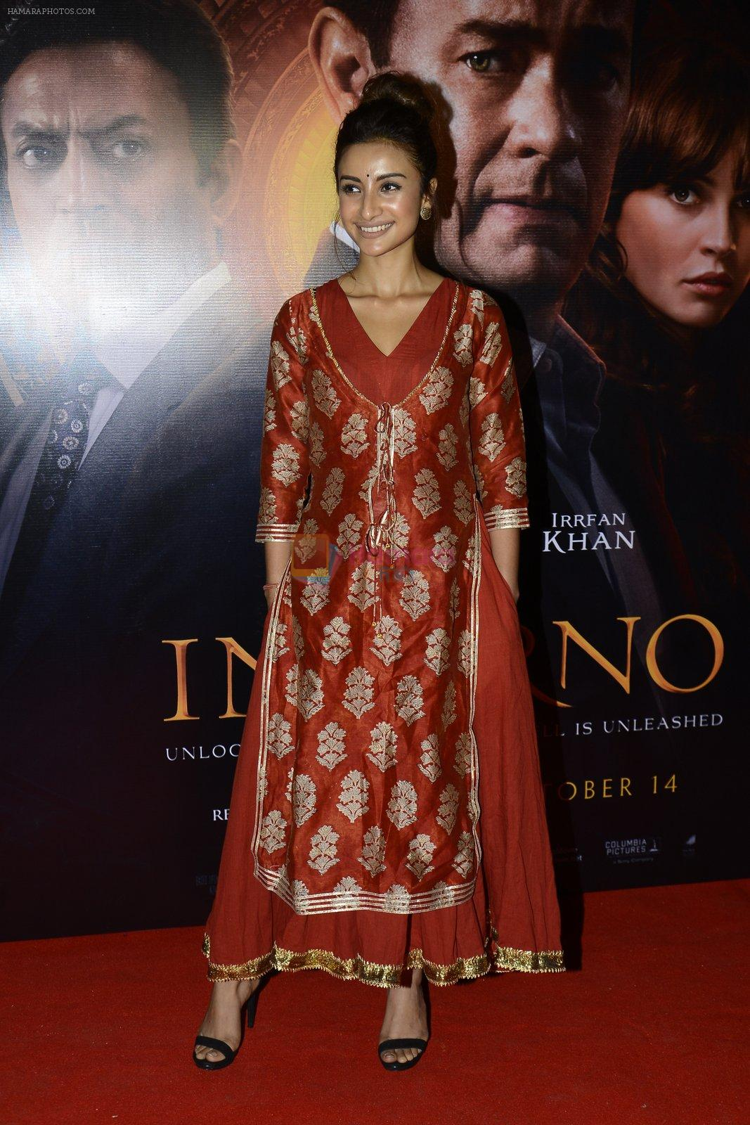 Patralekha at Inferno premiere on 12th Oct 2016