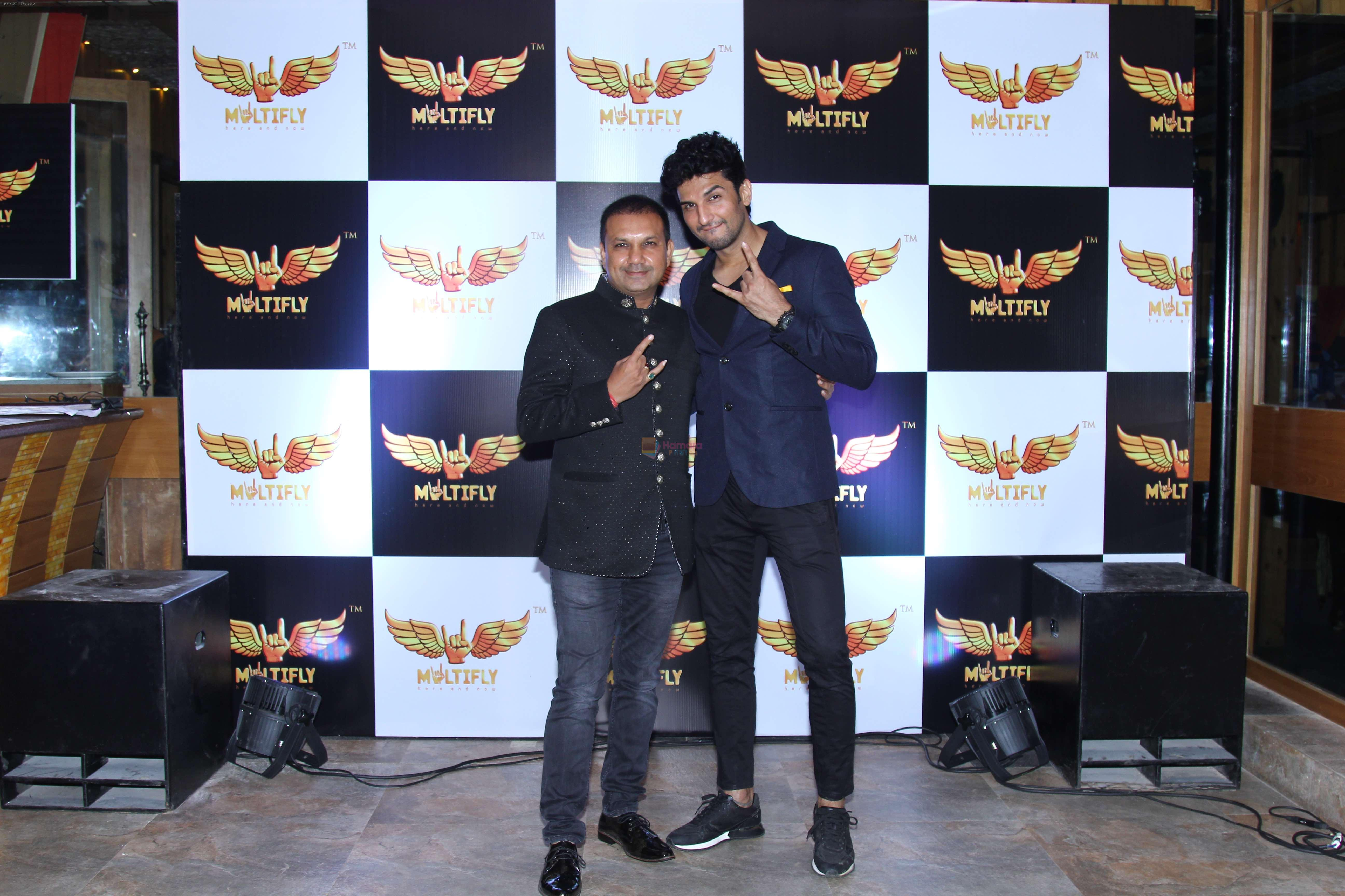 Manish Raisighan and Udayan Shah announce his latest project - Multify on 12th Oct 2016