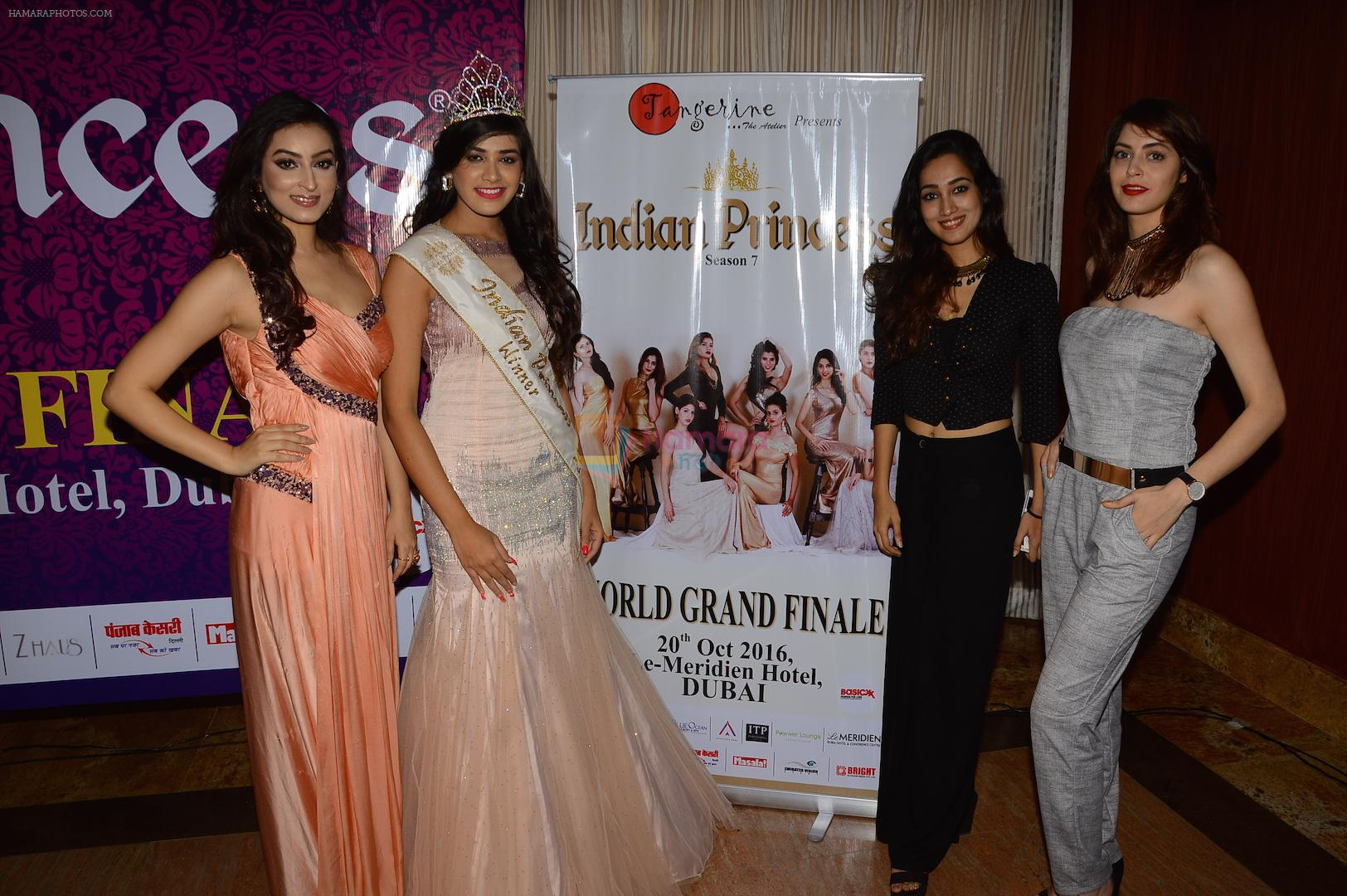 at Indian Princess 2016  Press Conference on 12th Oct 2016