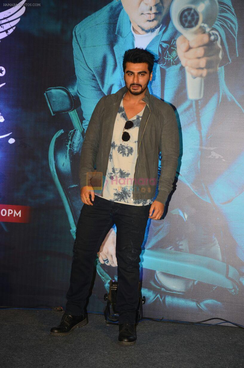 Arjun Kapoor andduring the launch of new season of Style Inc on TLC network in Mumbai on 13th Oct 2016