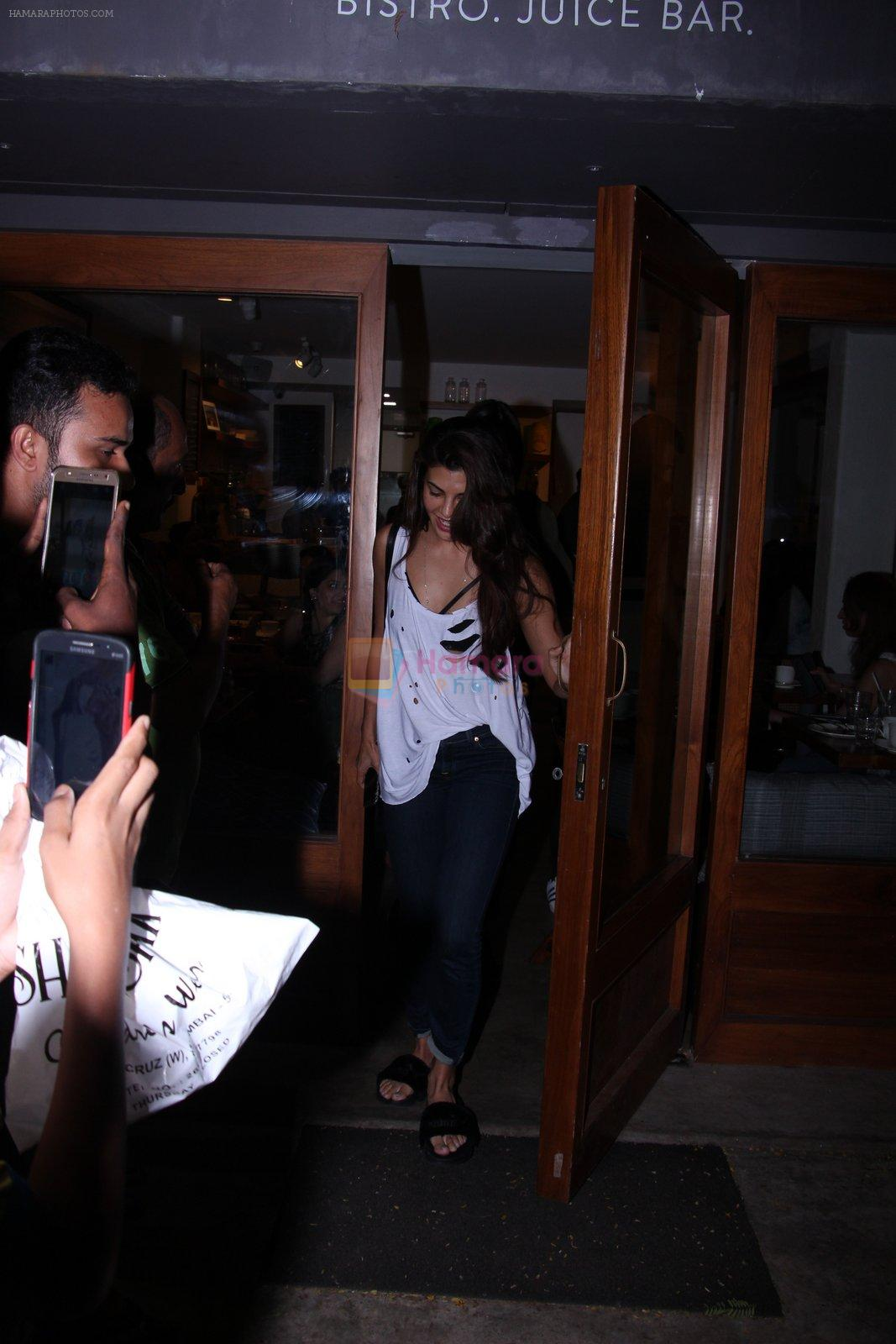 Jacqueline Fernandez snapped on 12th Oct 2016