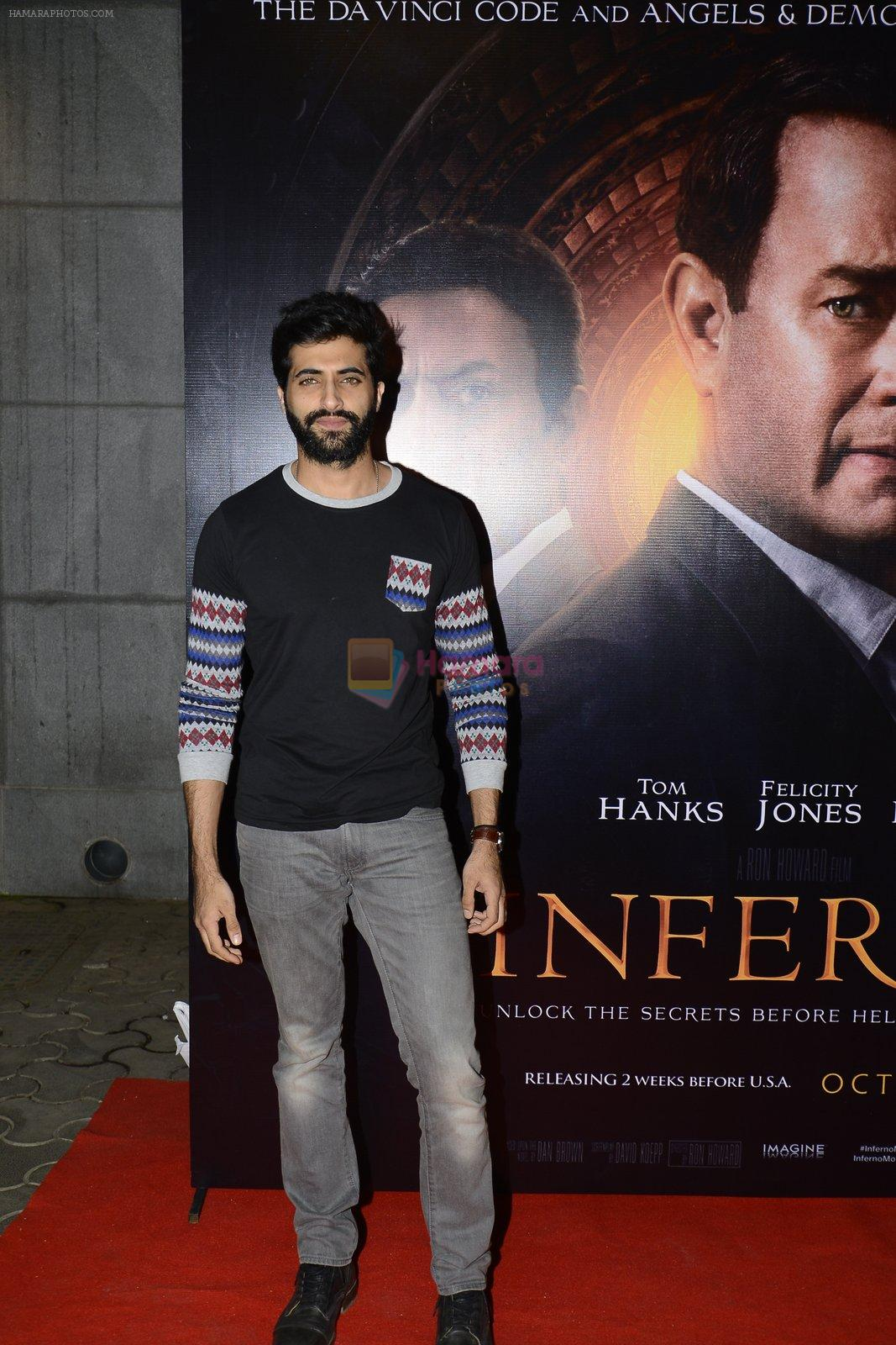 Akshay Oberoi at Inferno premiere on 12th Oct 2016