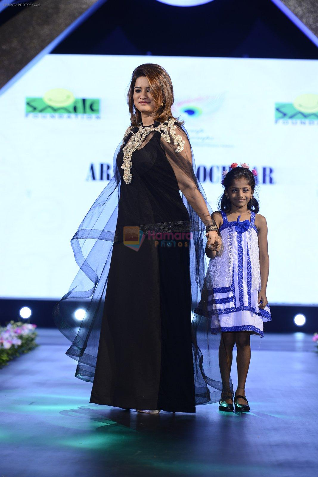at Smile Foundation charity fashion show on 13th Oct 2016
