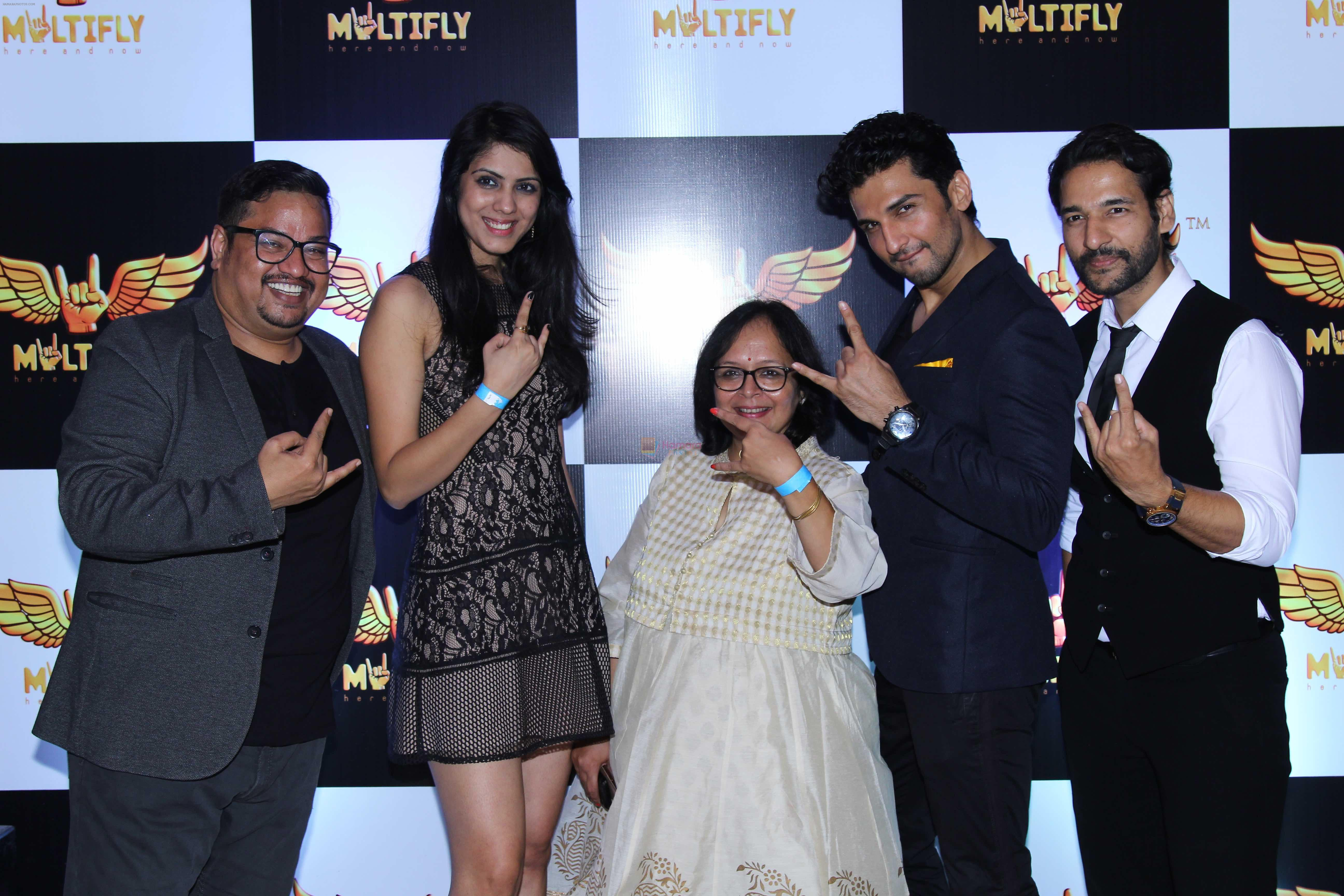 Manish Raisinghan, Shakir Sheikh, Swapna Wagmare announce his latest project - Multify on 12th Oct 2016