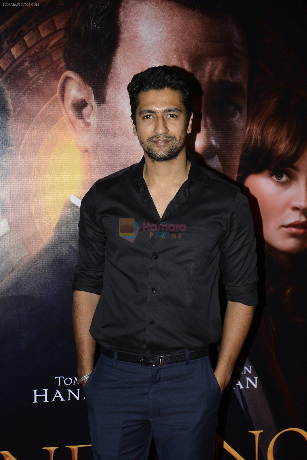 Vicky Kaushal at Inferno premiere on 12th Oct 2016