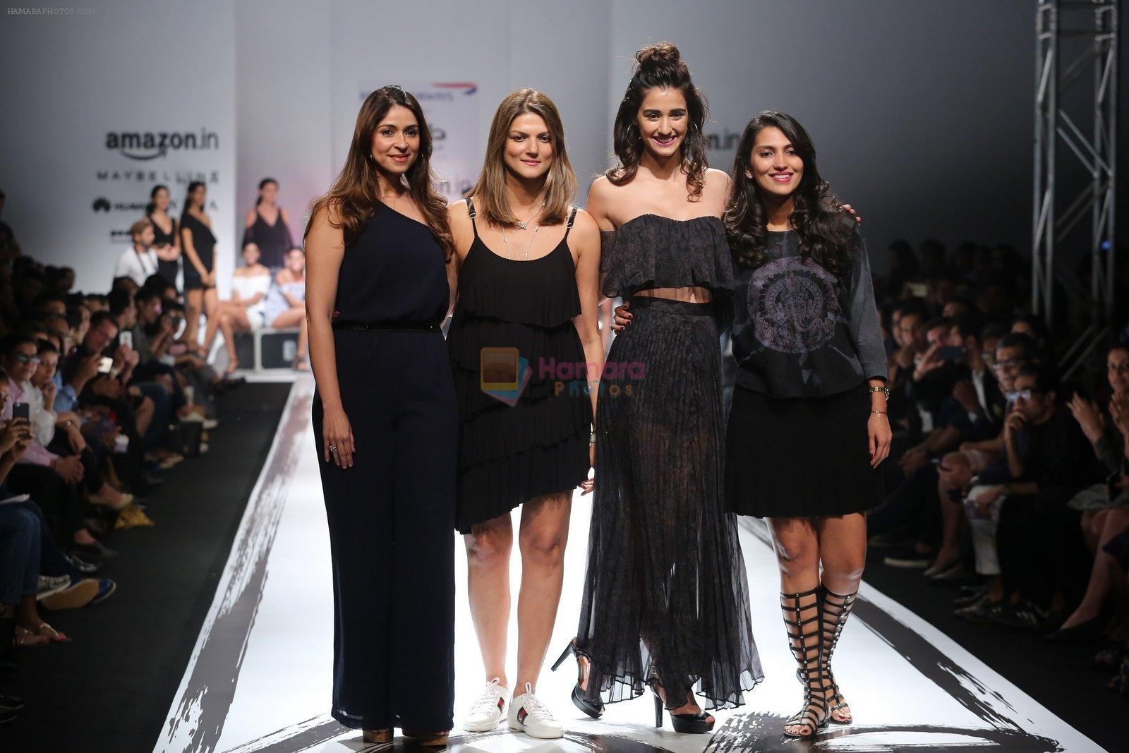 Disha Patani walks the ramp for the first time for Love Genrations debut at AFW_16
