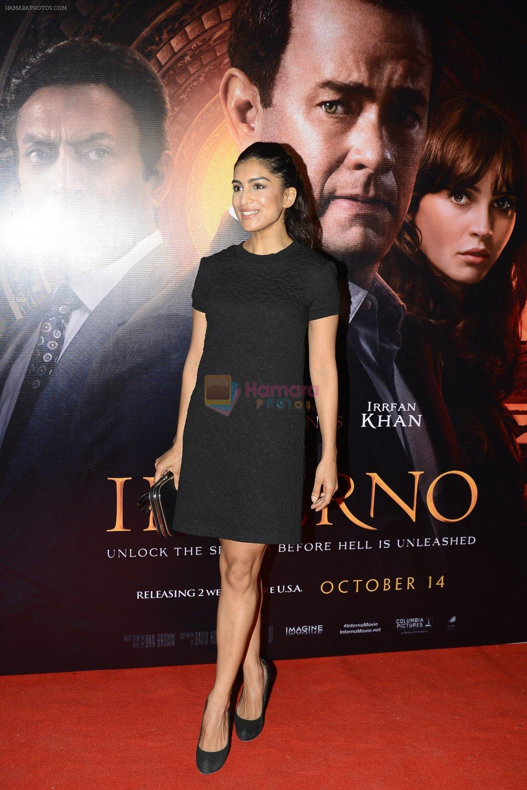 Pallavi Sharda at Inferno premiere on 12th Oct 2016
