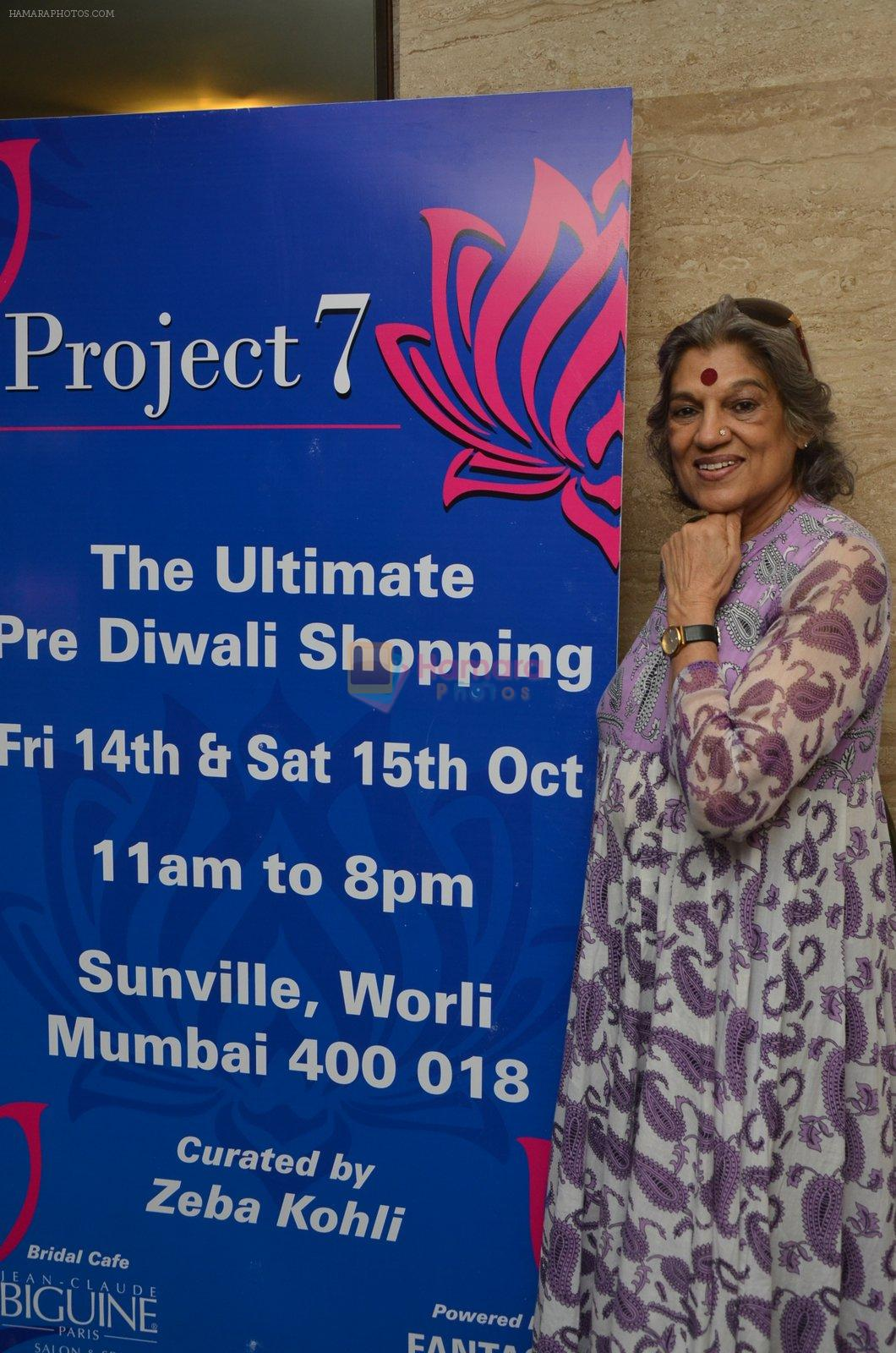 Dolly Thakore at Project 7 launch on 14th Oct 2016