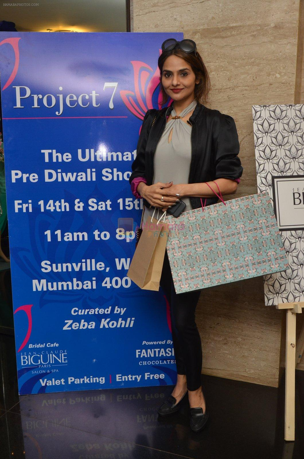 Madhoo at Project 7 launch on 14th Oct 2016
