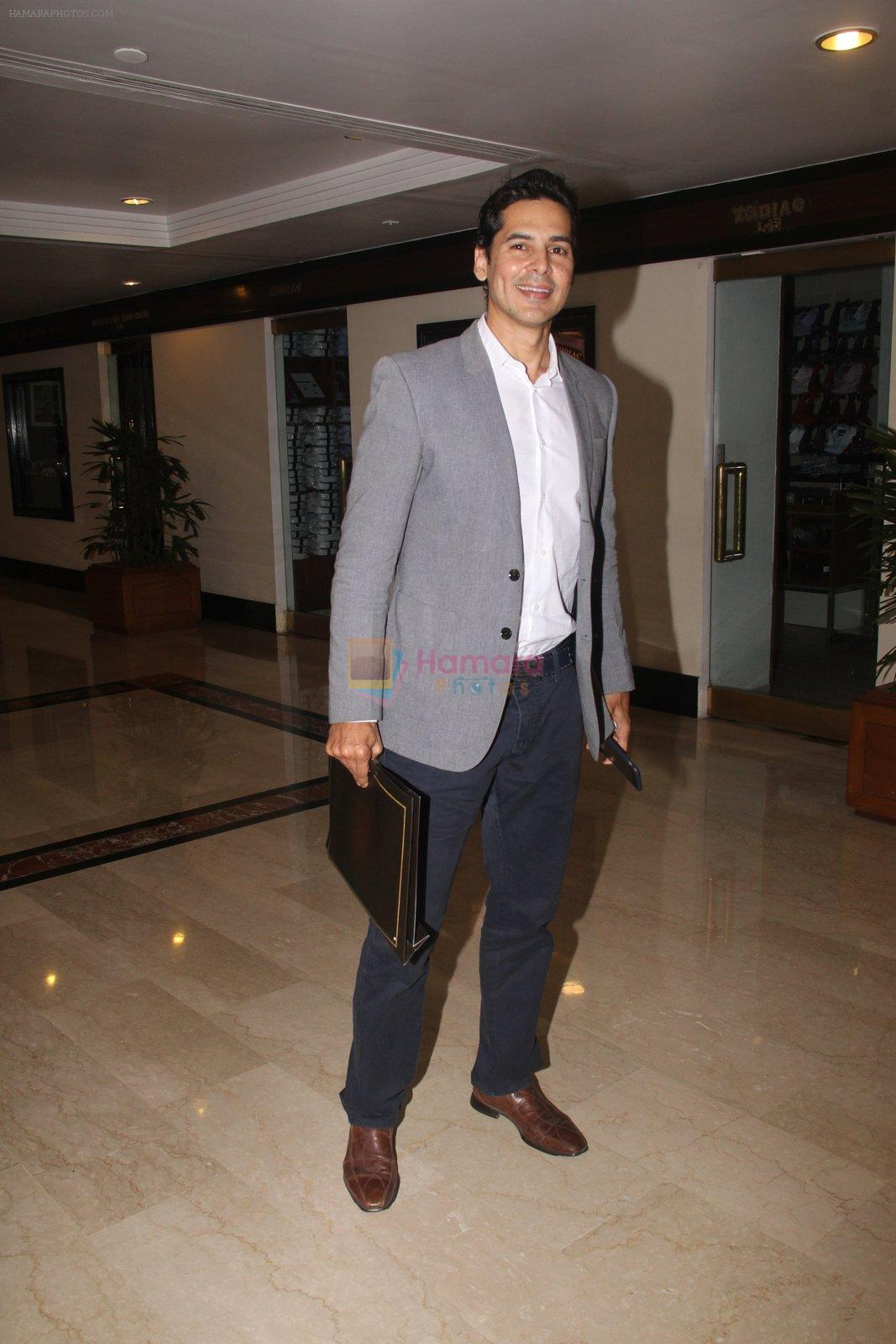 Dino Morea snapped at lobby of Trident for ET Panache trend setters awards on 14th Oct 2016