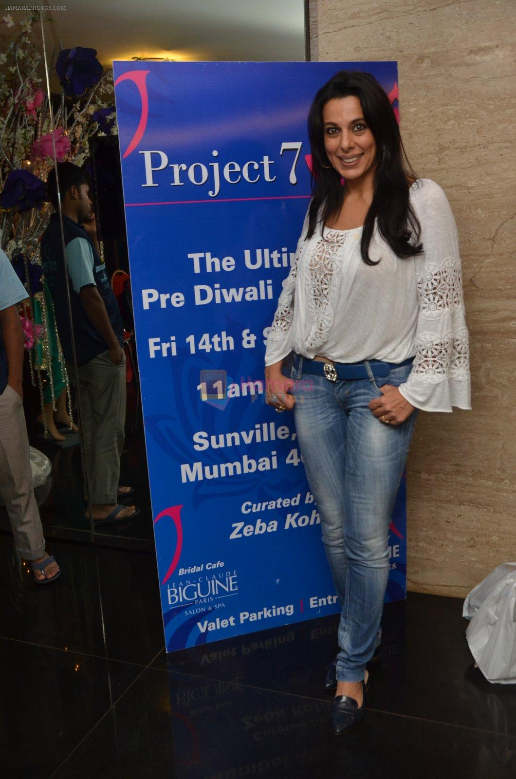 Pooja Bedi at Project 7 launch on 14th Oct 2016