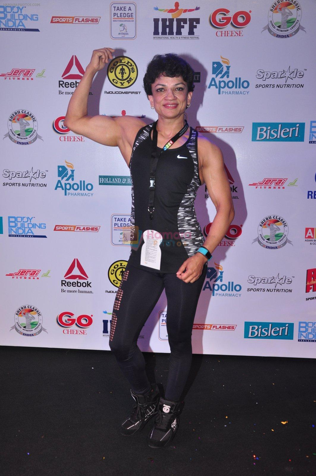 at Sheru classic fitness show on 14th Oct 2016