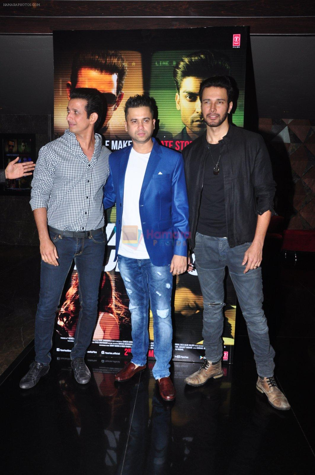 Sharman Joshi, Vishal Pandya, Rajneesh Duggal at Wajah Tum Ho film event on 14th Oct 2016