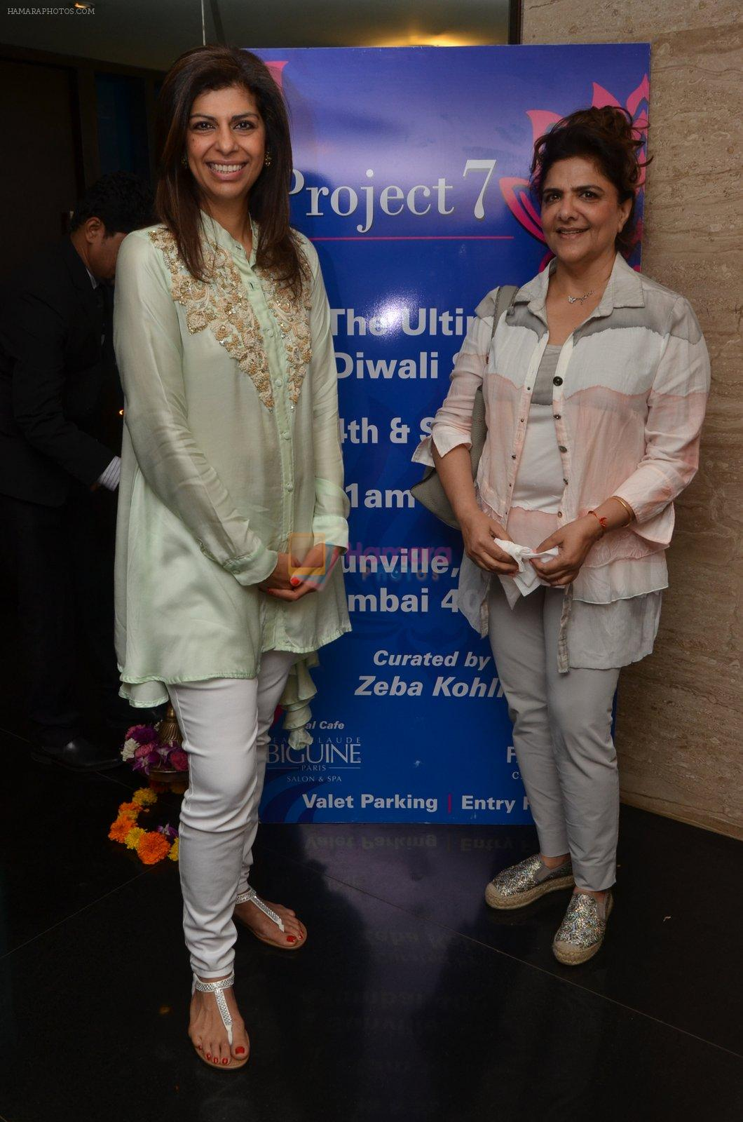 Pinky Roshan at Project 7 launch on 14th Oct 2016