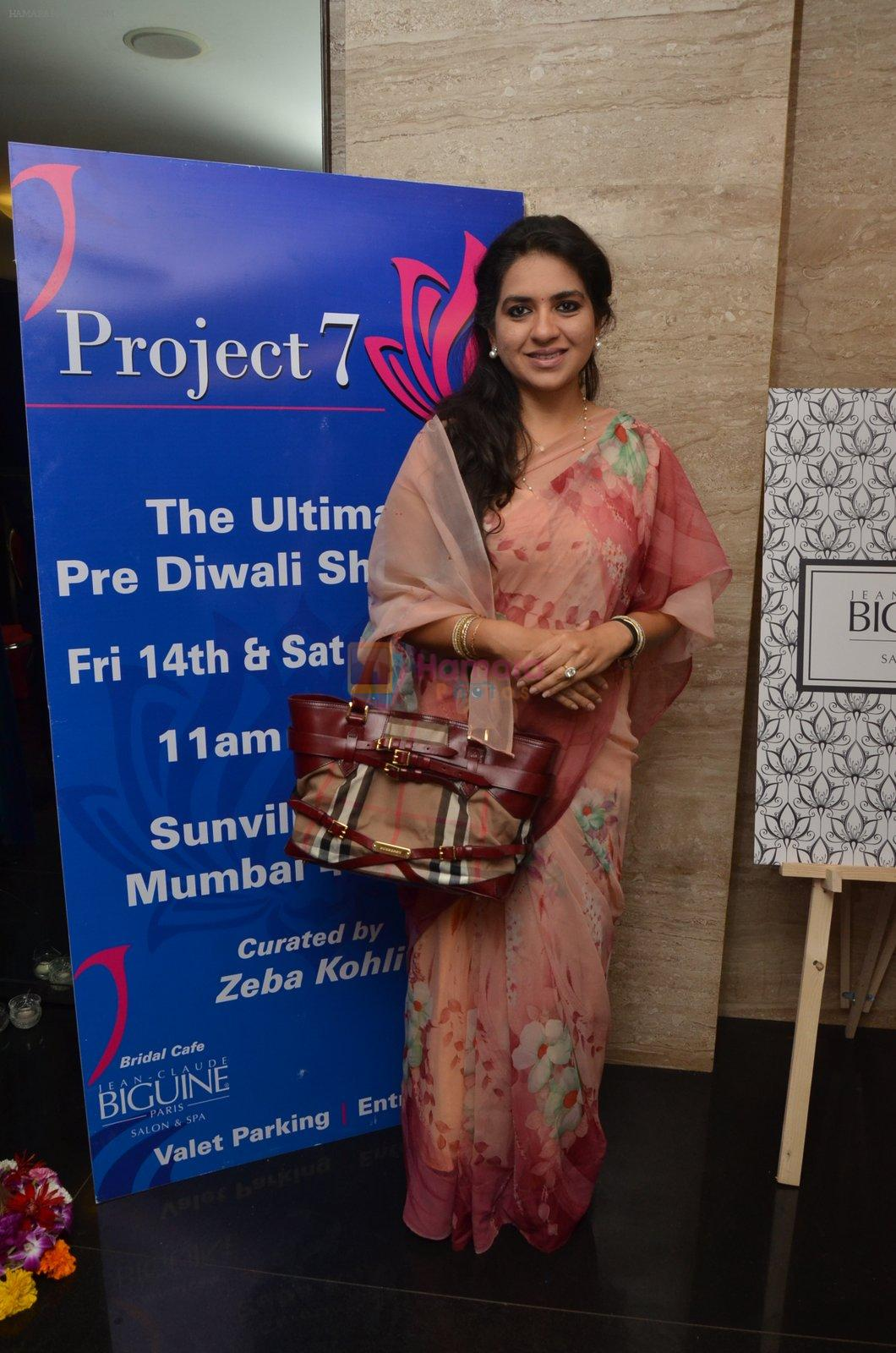 Shaina NC at Project 7 launch on 14th Oct 2016