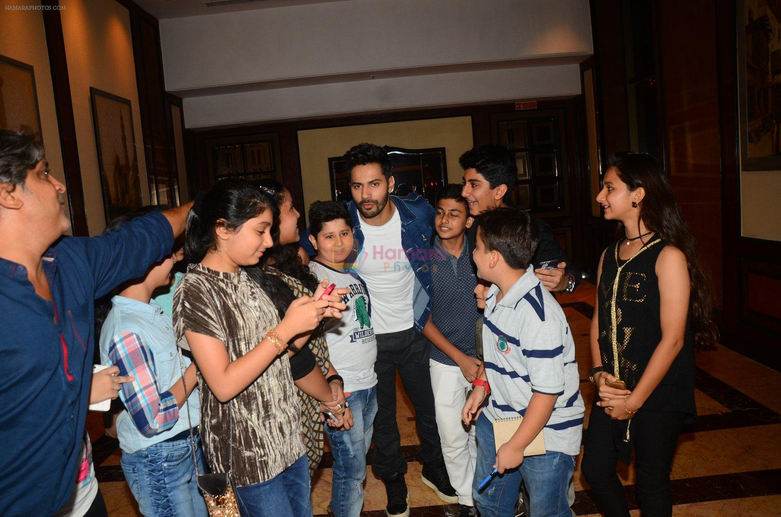 Varun Dhawan during the success party of the film Dishoom on 14th Oct 2016