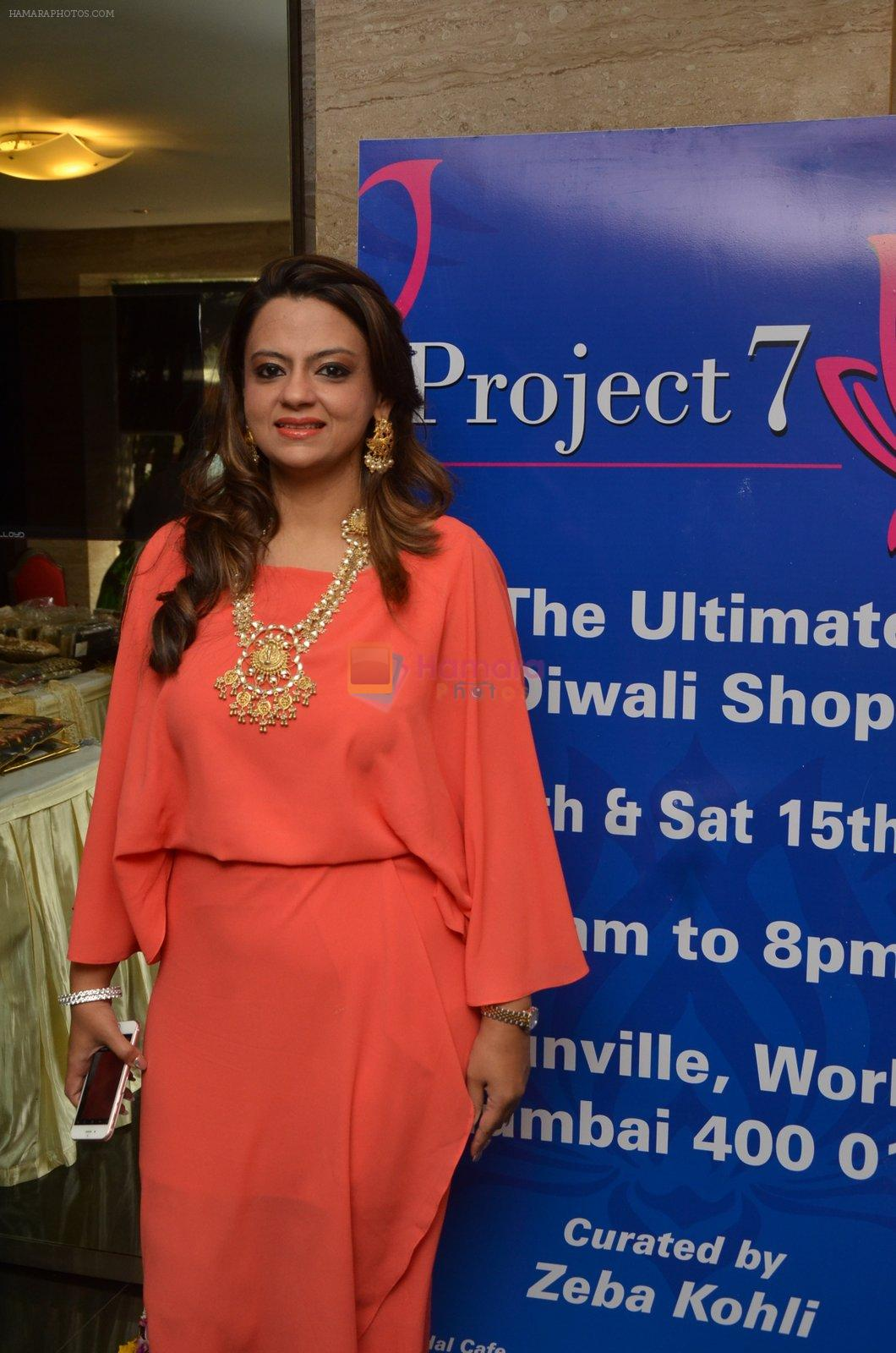 at Project 7 exhibition day 2 on 15th Oct 2016
