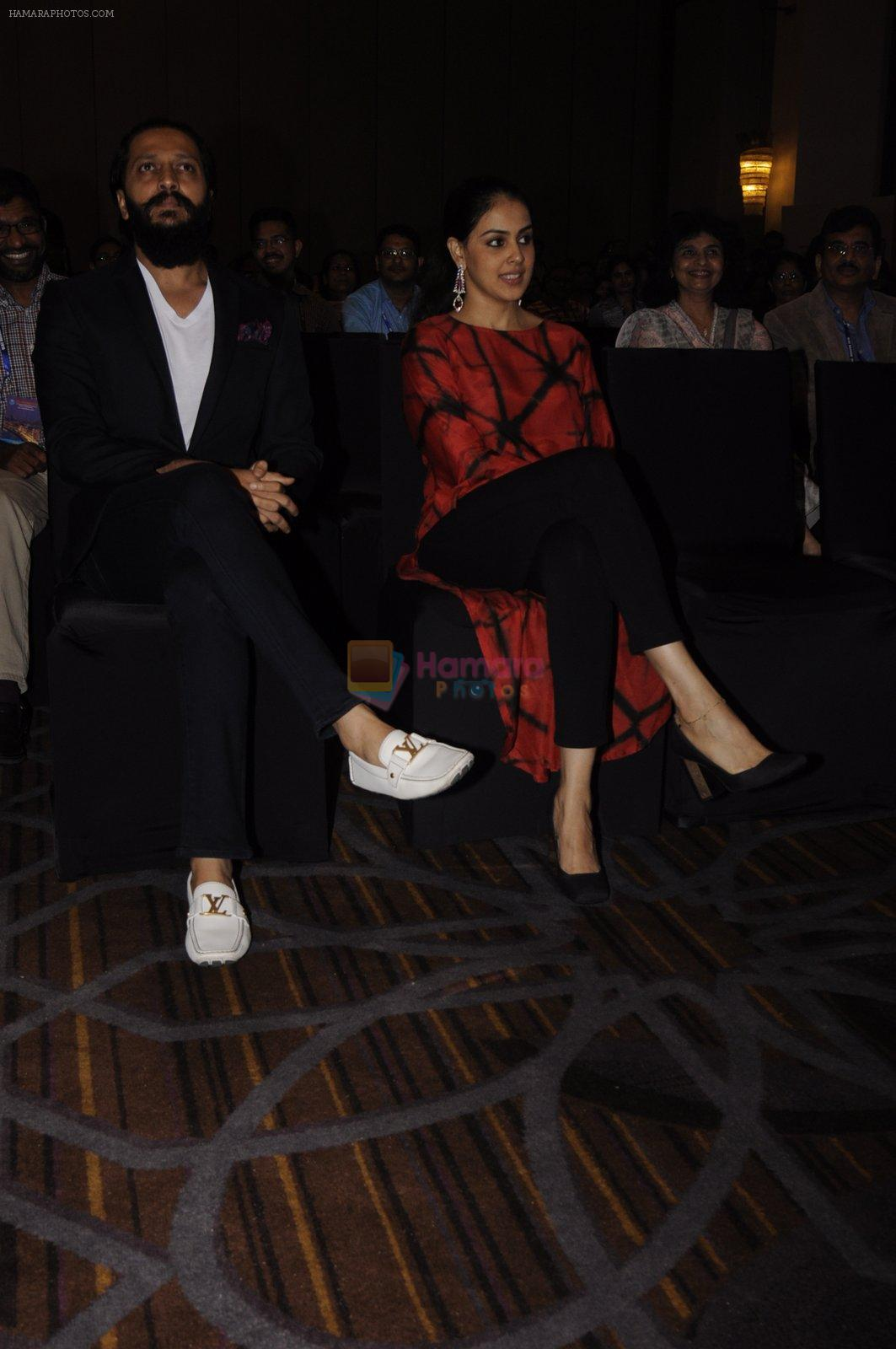 Riteish Deshmukh & Genelia D souza launch the Labour Analgesia app Birth Ease on 16th Oct 2016