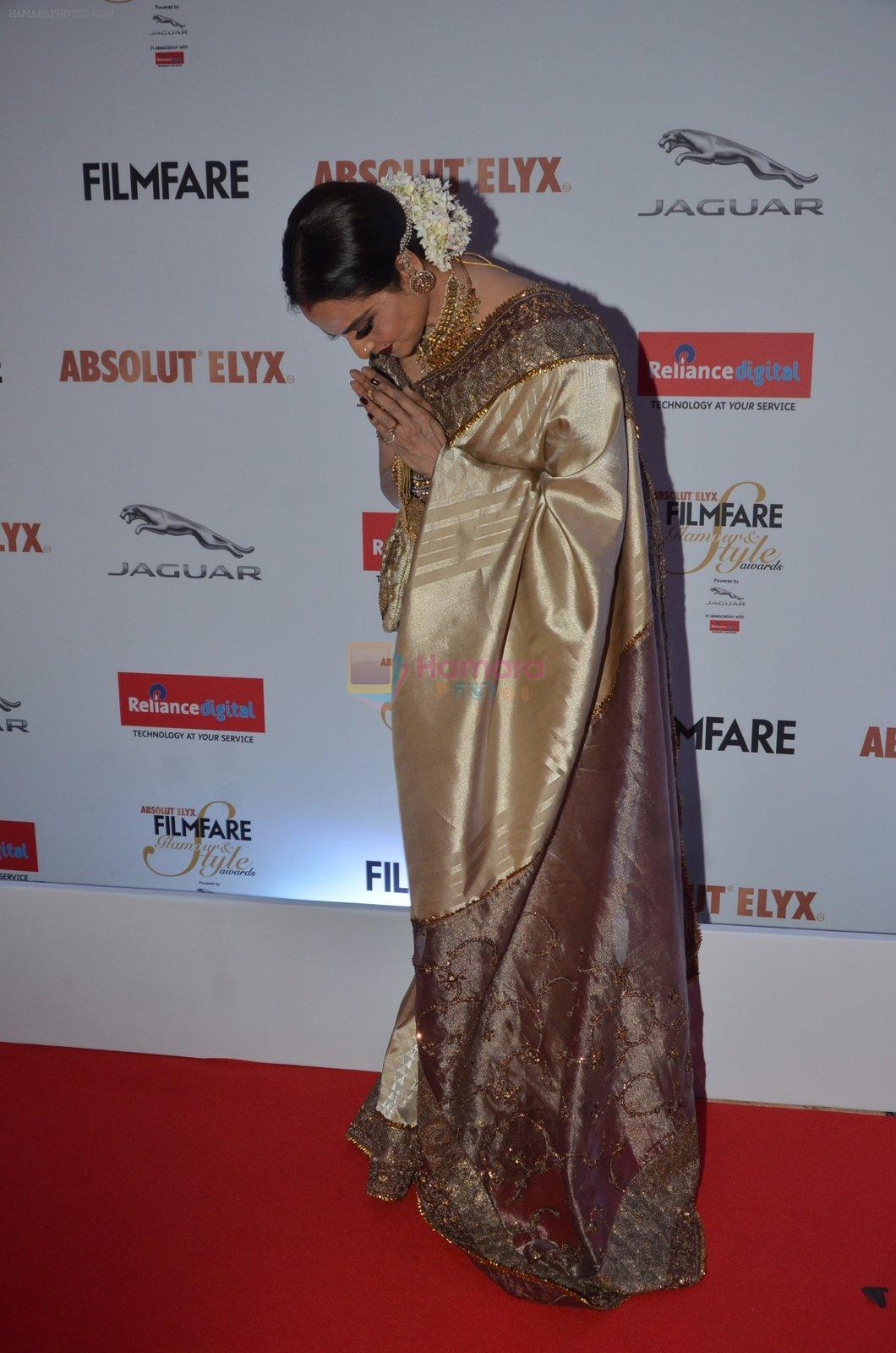 Rekha at Filmfare Glamour & Style Awards 2016 in Mumbai on 15th Oct 2016