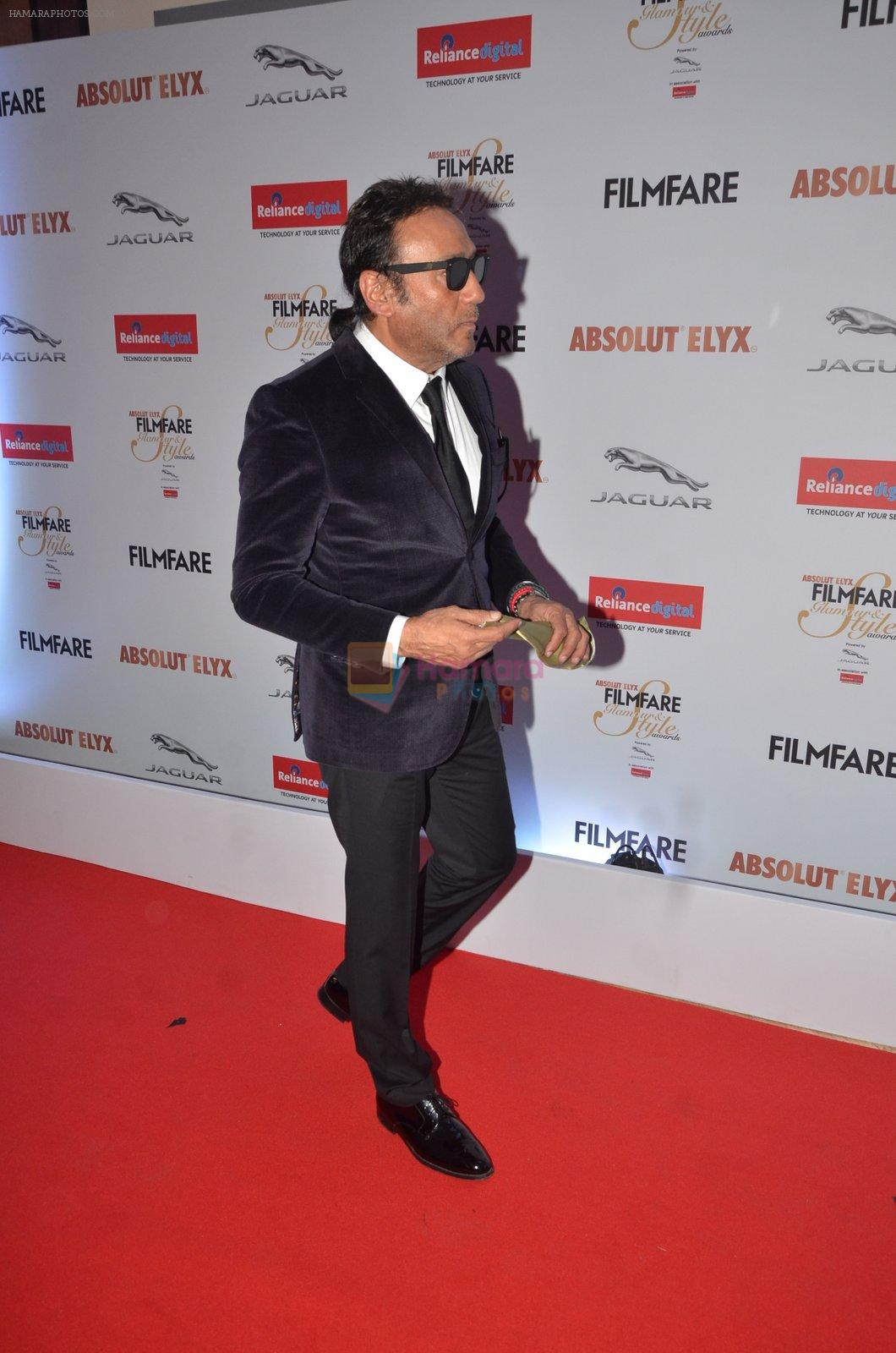 Jackie Shroff at Filmfare Glamour & Style Awards 2016 in Mumbai on 15th Oct 2016
