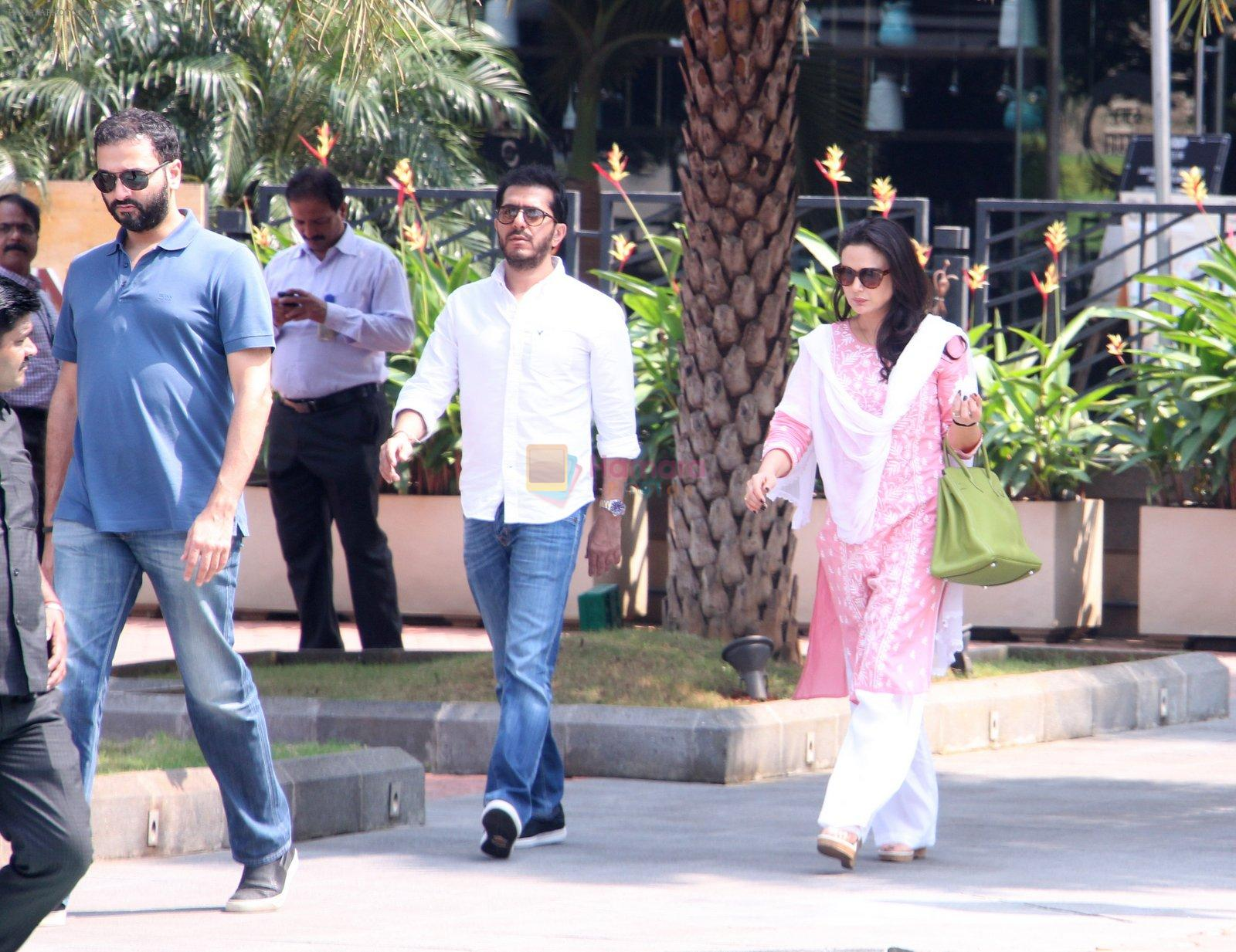 Preity Zinta snapped at launch in BKC on 15th Oct 2016