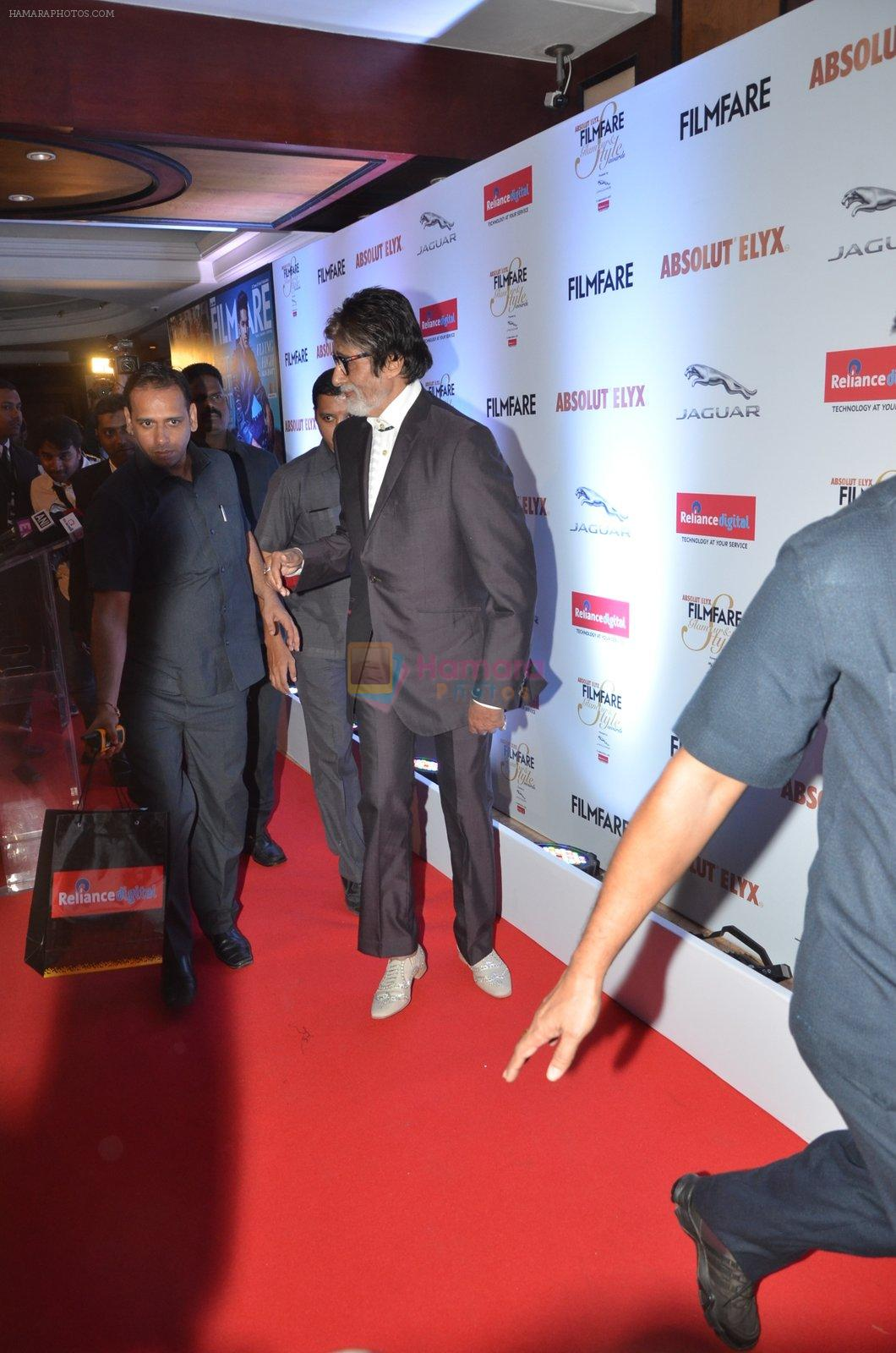 Amitabh Bachchan at Filmfare Glamour & Style Awards 2016 in Mumbai on 15th Oct 2016