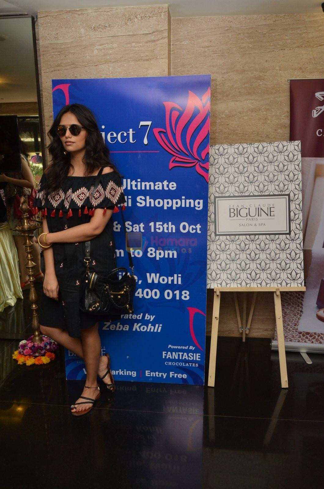 Roshni Chopra at Project 7 exhibition day 2 on 15th Oct 2016
