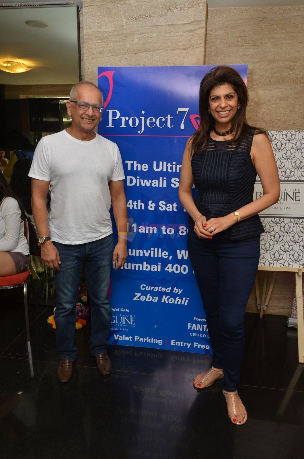Jay Mehta at Project 7 exhibition day 2 on 15th Oct 2016