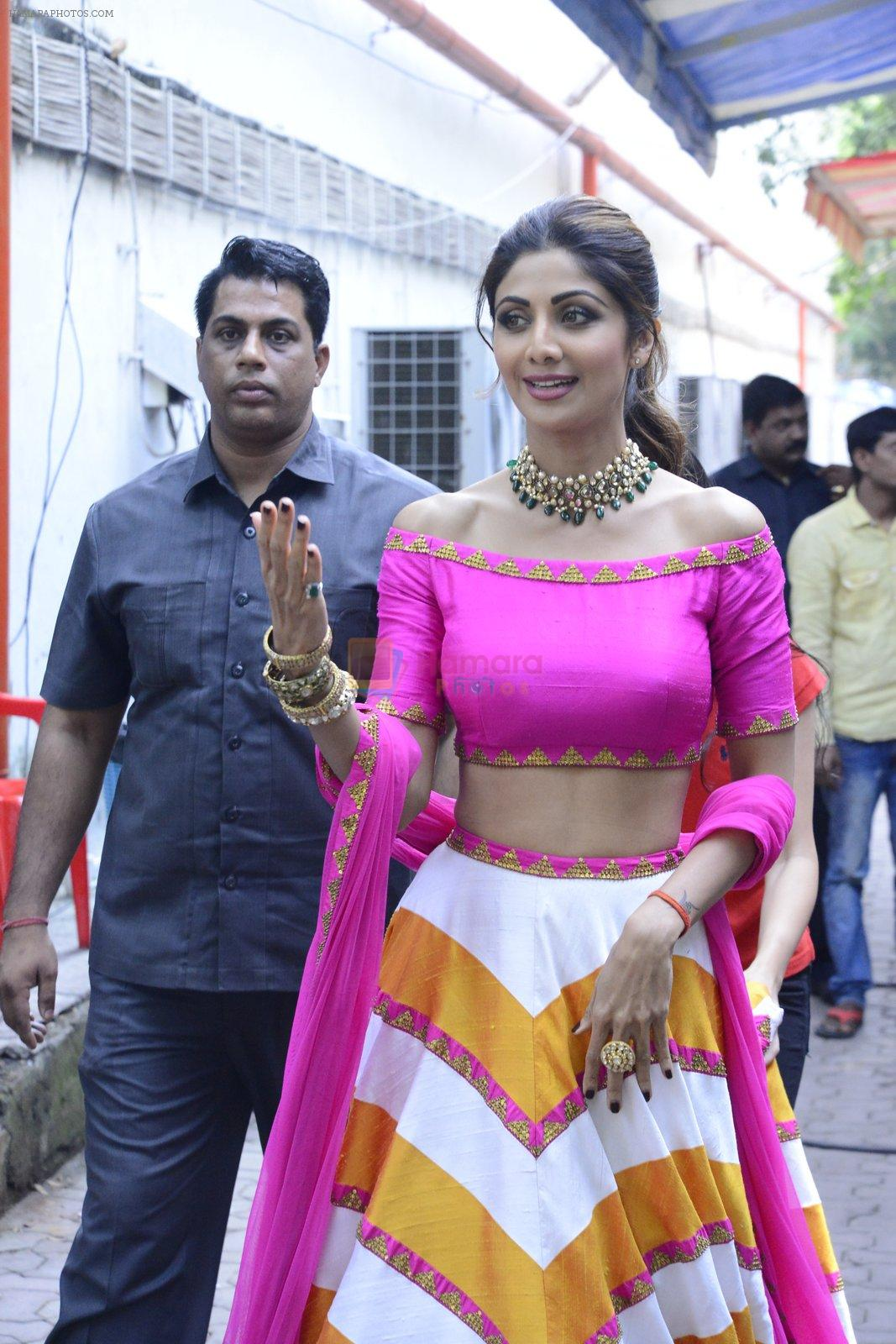 Shilpa Shetty on the sets of Super Dancer on 16th Oct 2016