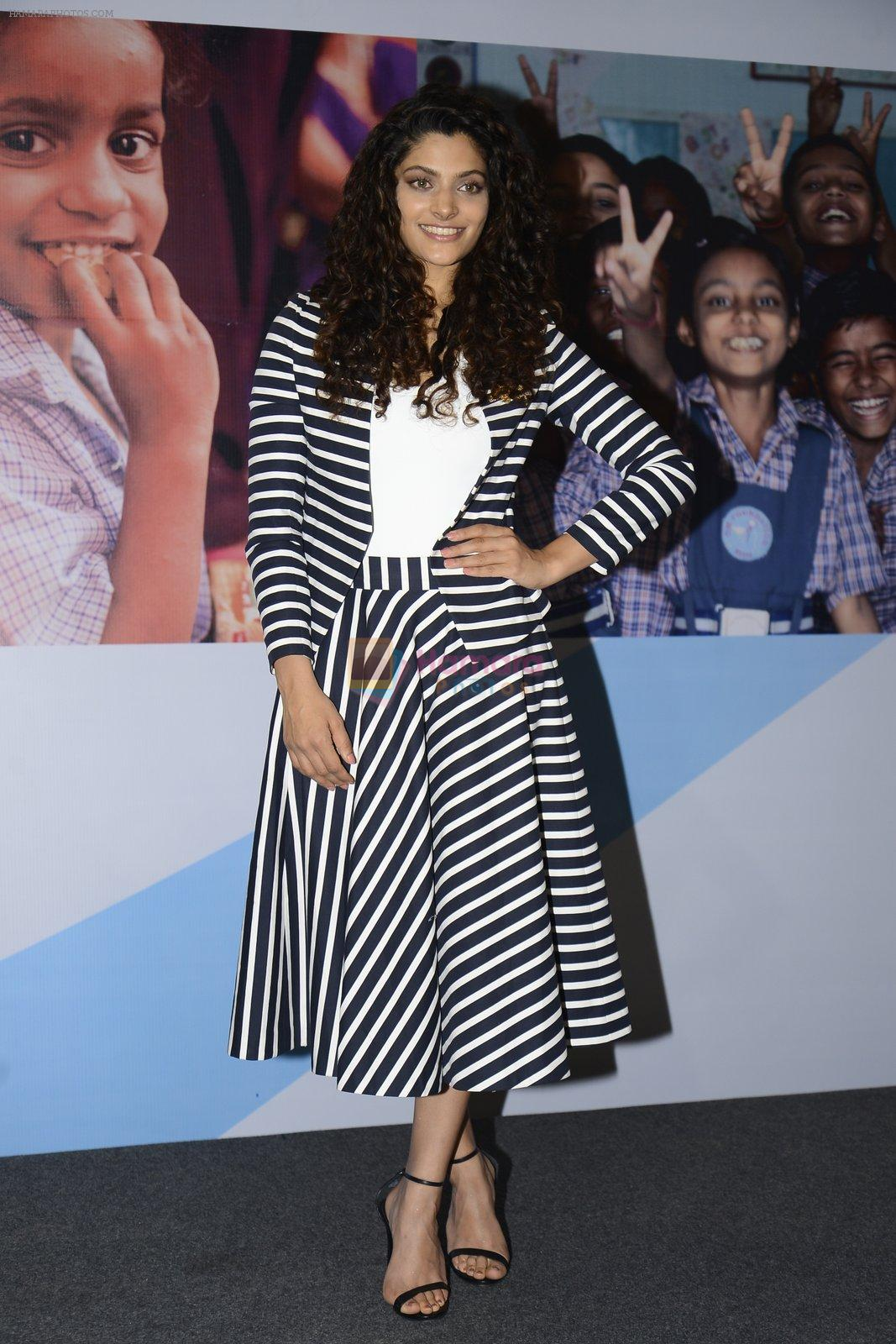 Saiyami Kher for world food day event by smile foundation at Quaker on 16th Oct 2016