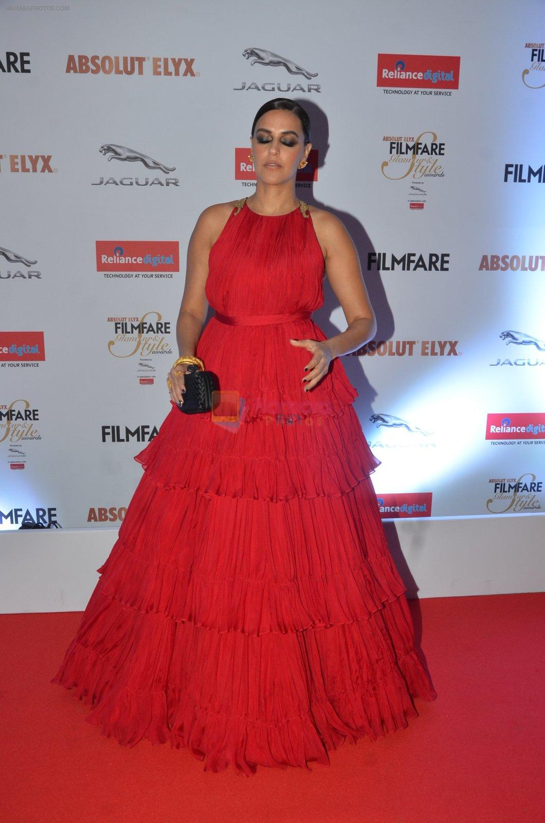 Neha Dhupia at Filmfare Glamour & Style Awards 2016 in Mumbai on 15th Oct 2016