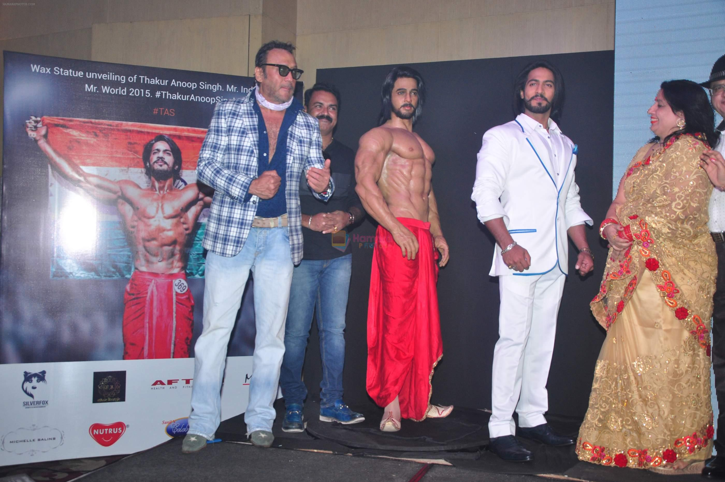 Jackie Shroff at Thakur Anoop Singh debut on 17th Oct 2016
