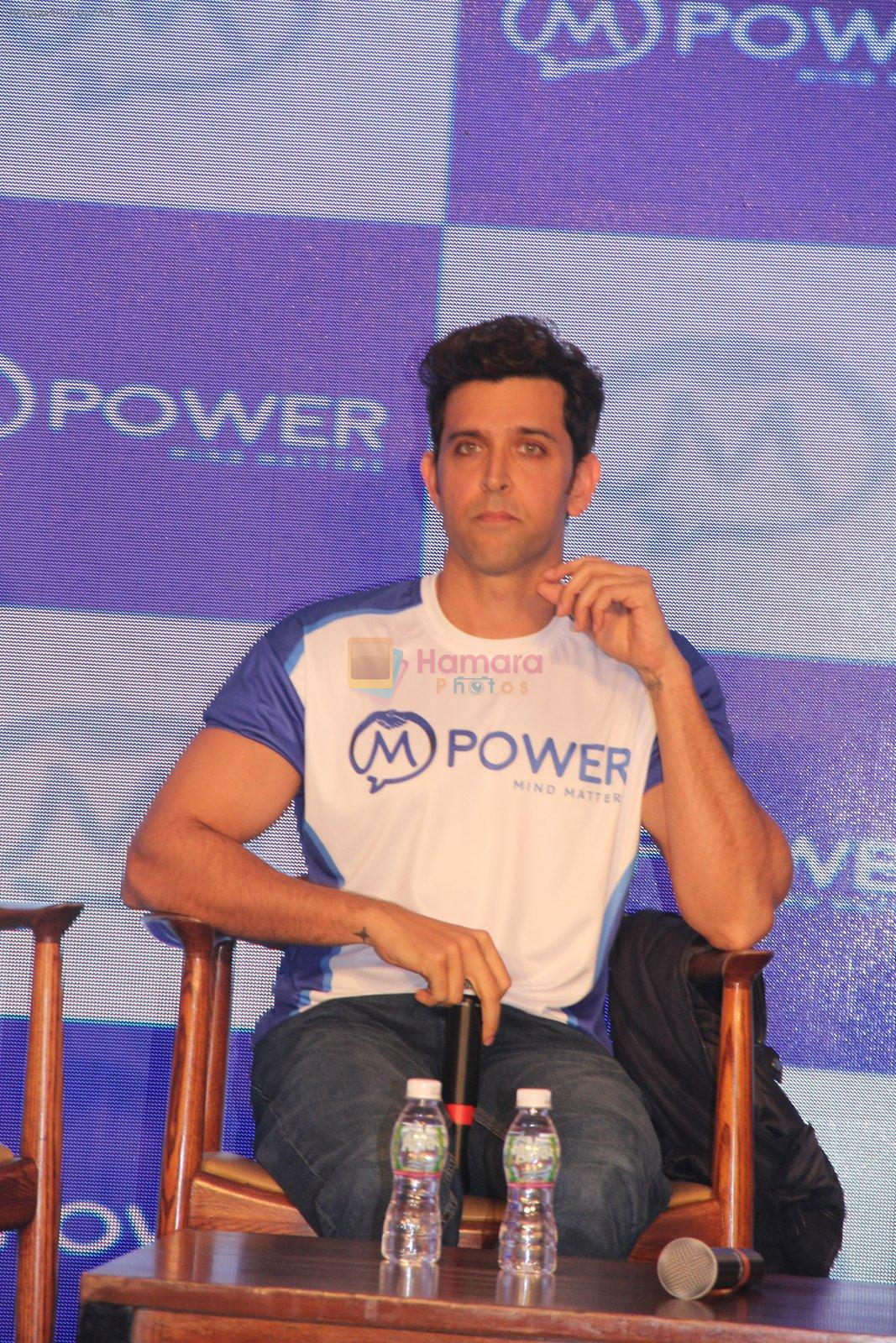 Hrithik Roshan at Mpower launch on 17th Oct 2016