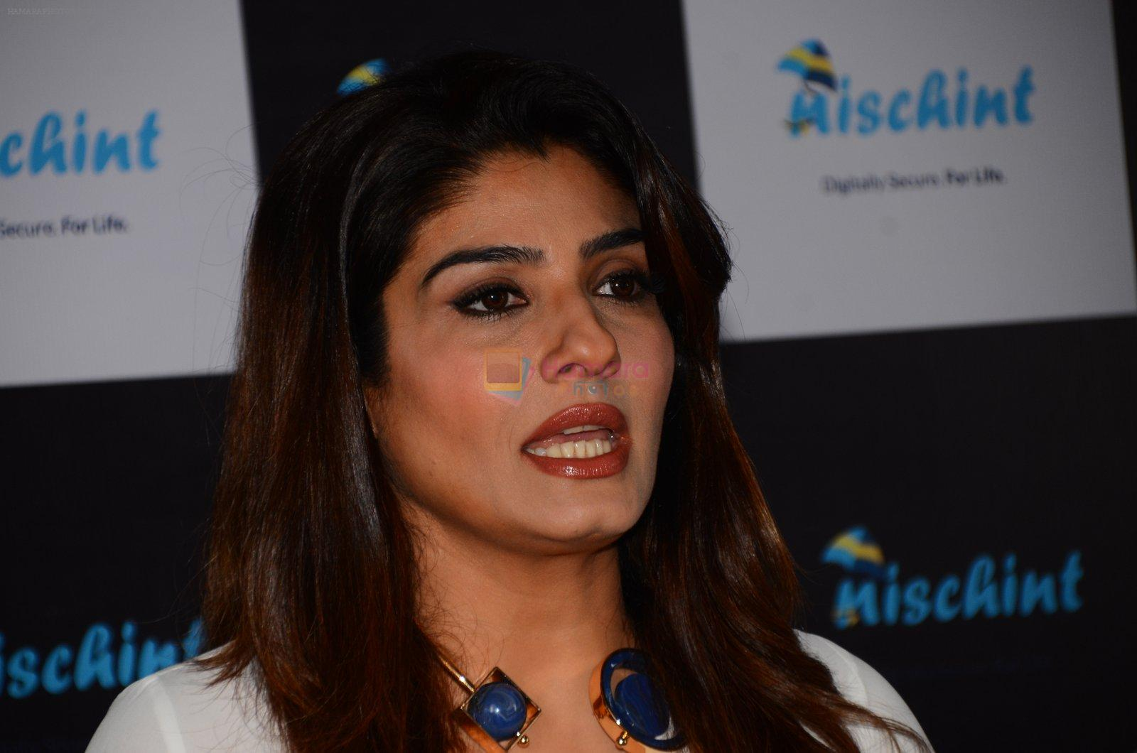 Raveena Tandon at Nischint app launch on 18th Oct 2016