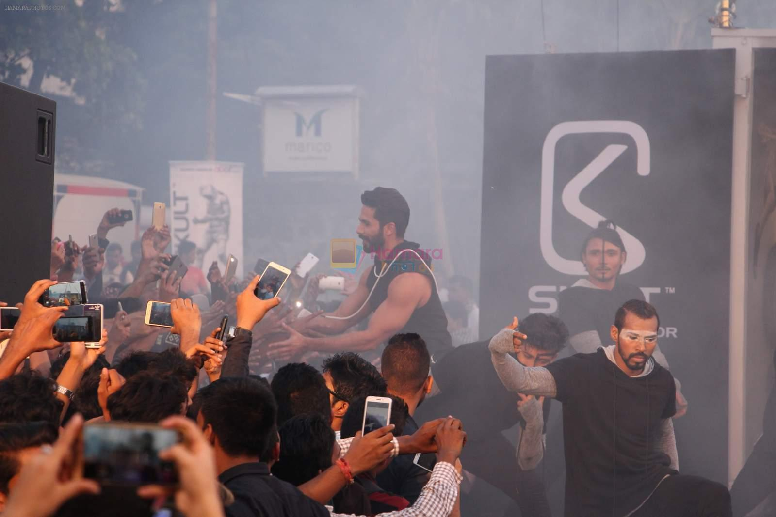 Shahid Kapoor at Skult launch on 18th Oct 2016