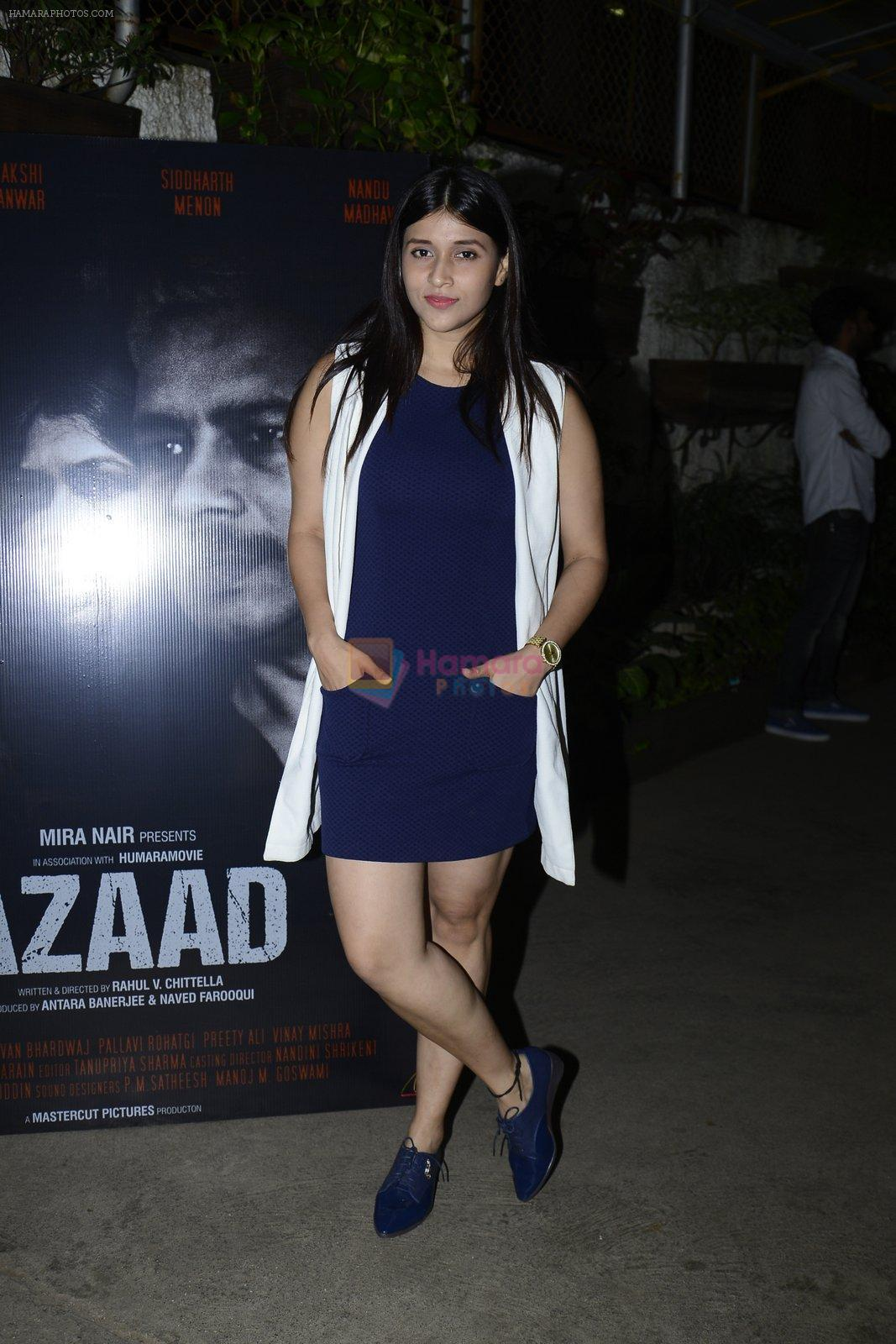 Mannara Chopra at Azaad film screening on 18th Oct 2016