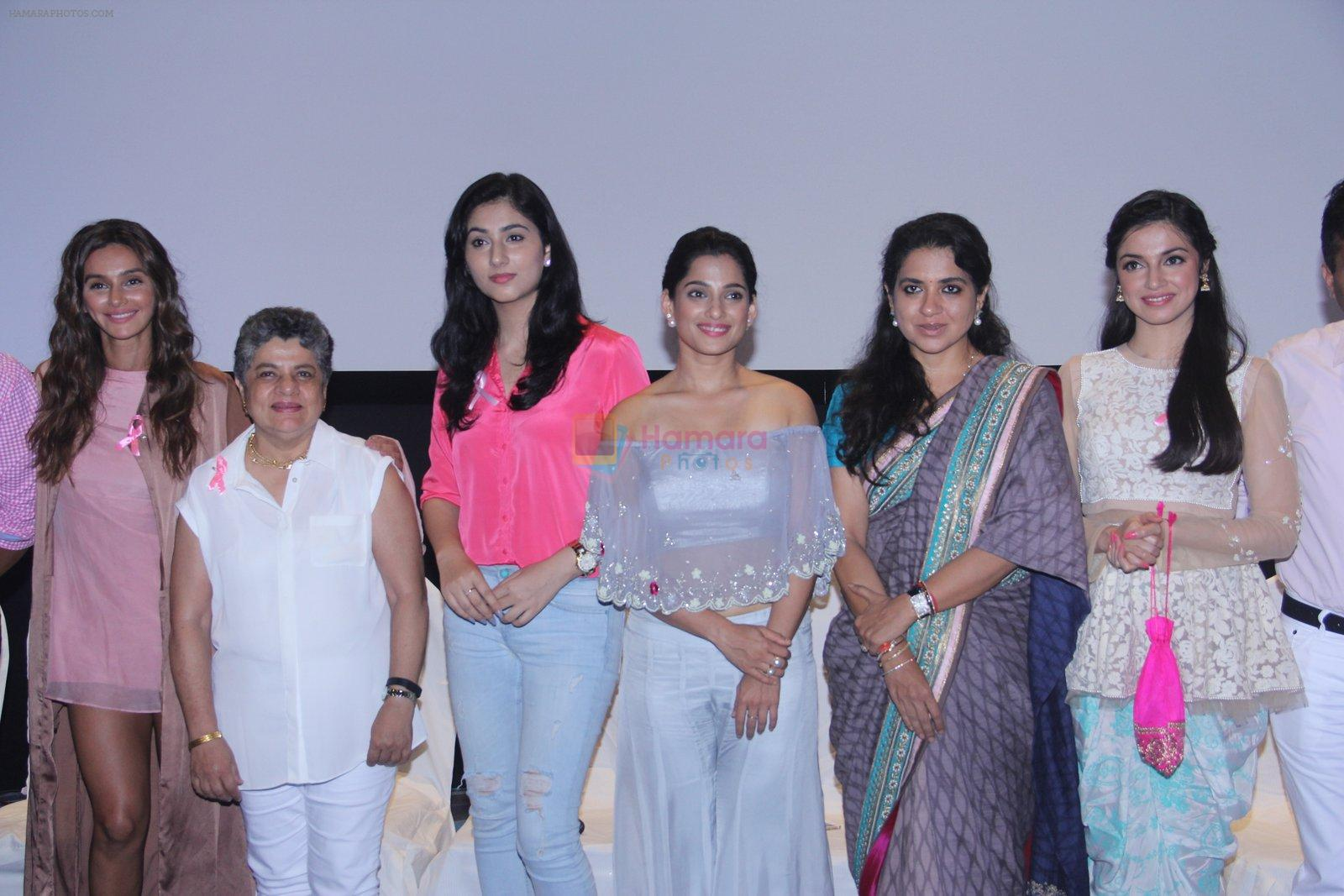 Divya Khosla Kumar, Shaina NC, Shibani Dandekar at ladies event in NSCI on 18th Oct 2016